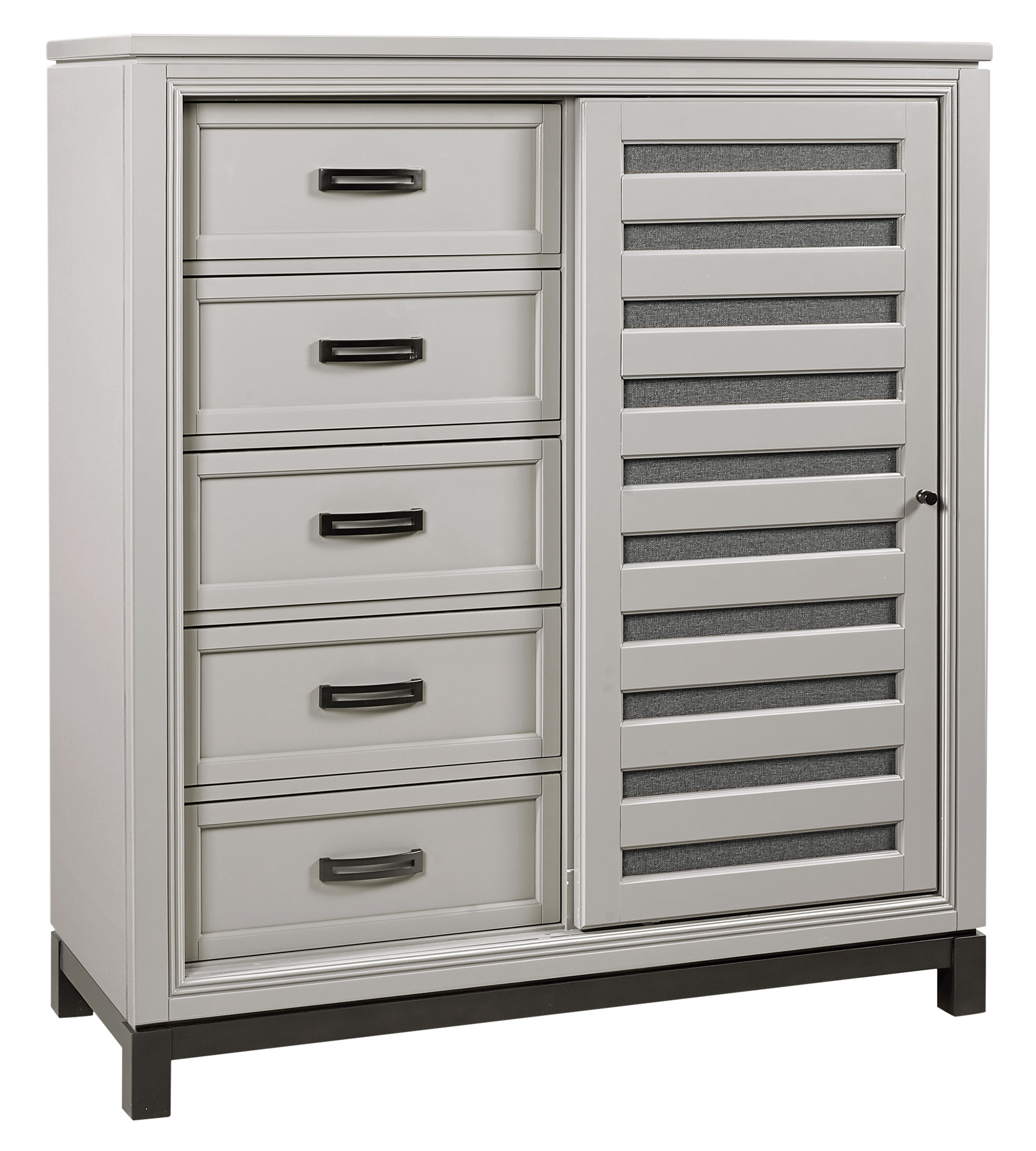 Hyde Park Sliding Door Chest  by Aspenhome at Darvin Furniture