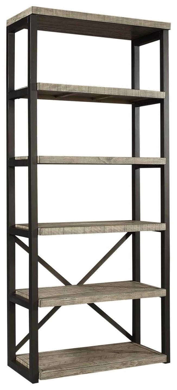 I215 Grayson Open Bookcase by Aspenhome at Furniture Fair - North Carolina