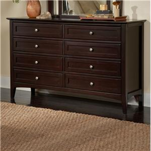 Double Dresser with Drawers