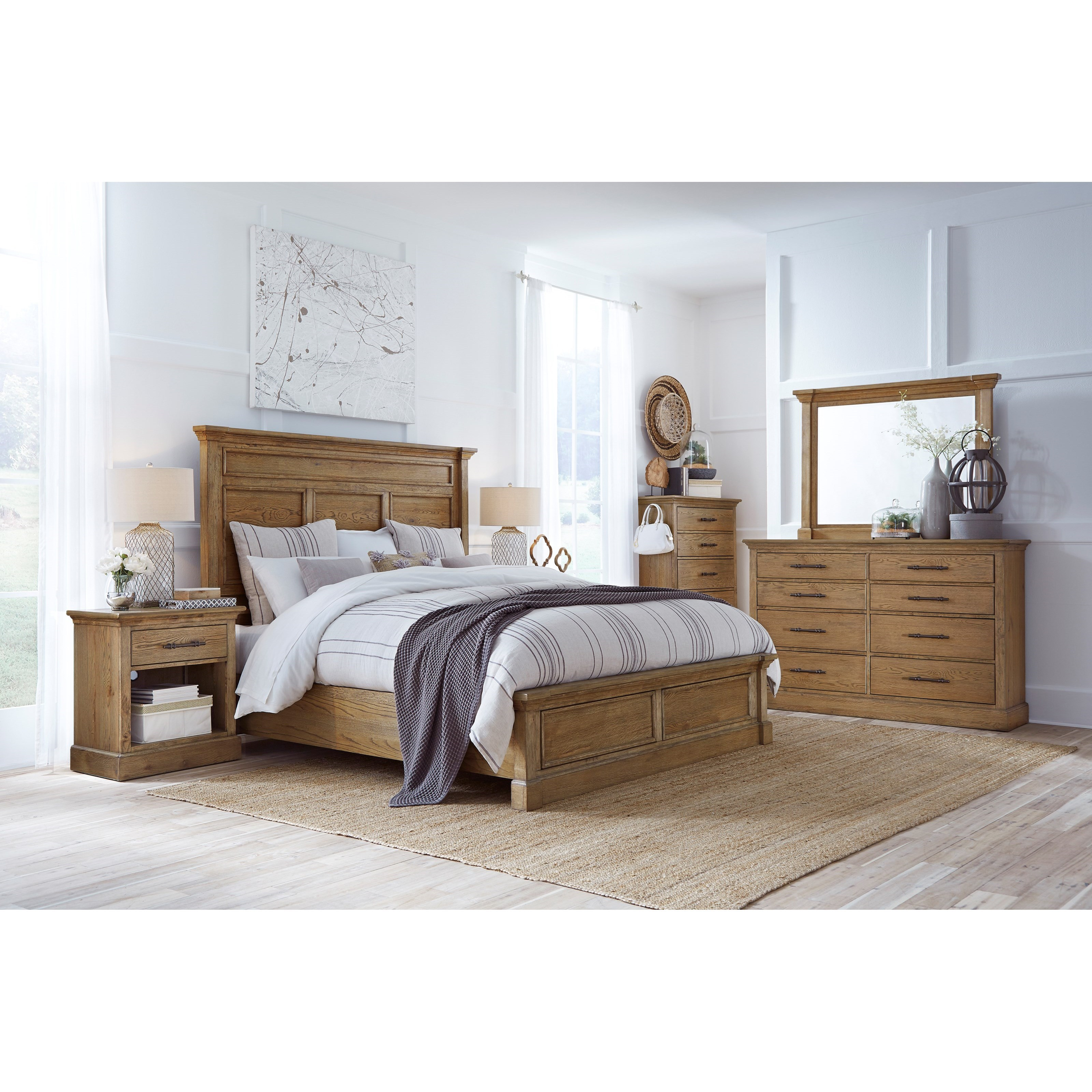 Manchester King Bedroom Group by Aspenhome at Stoney Creek Furniture