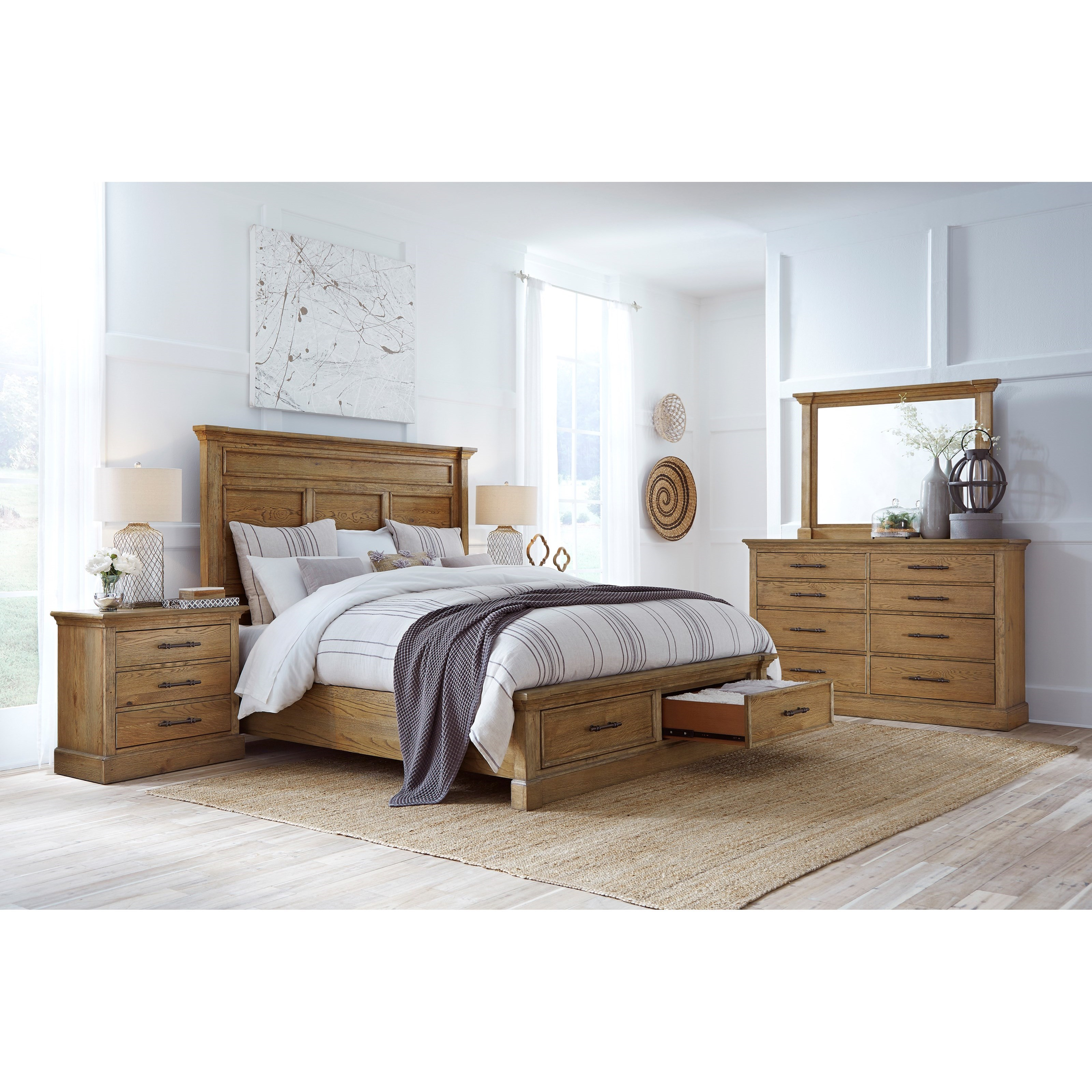 Manchester King Bedroom Group by Aspenhome at Baer's Furniture