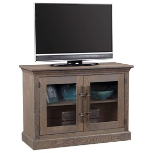 "45"" Console with 2 Glass Doors"