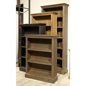 """48"""" Bookcase with 2 Shelves"""
