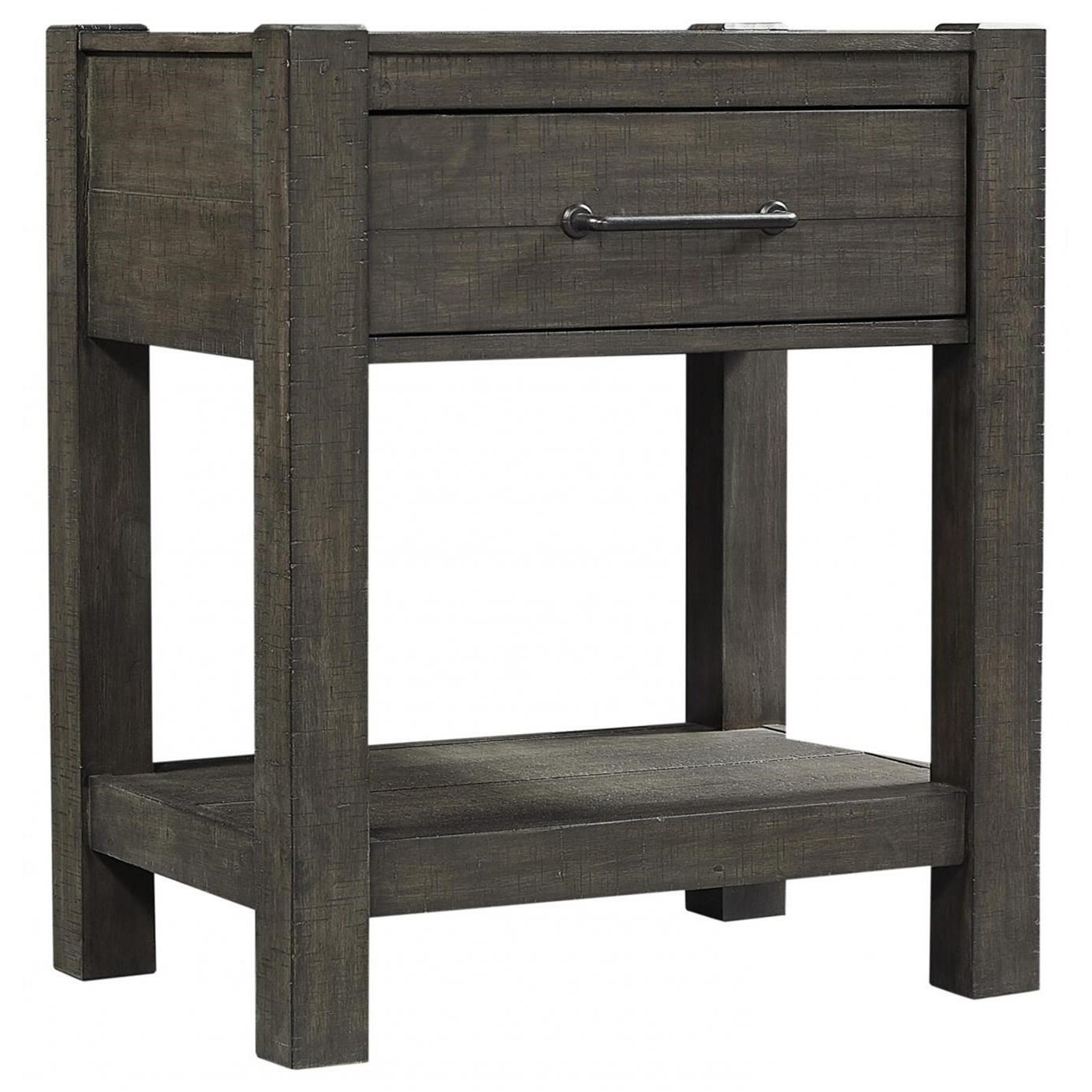 Mill Creek 1 Drawer Nightstand by Aspenhome at Stoney Creek Furniture