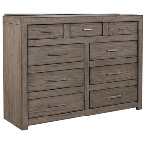 Chesser with Drop-Front Drawer