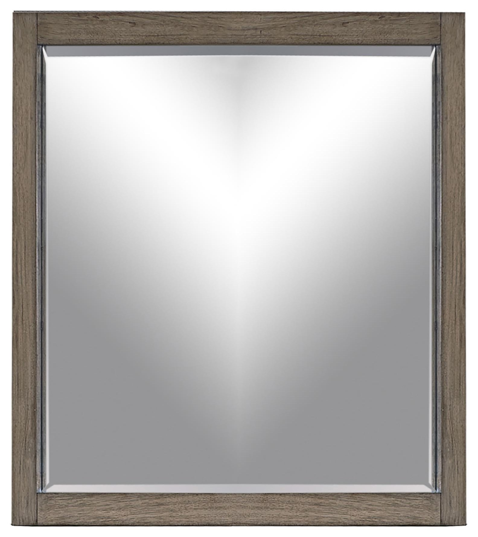 Modern Loft Mirror  by Aspenhome at Red Knot