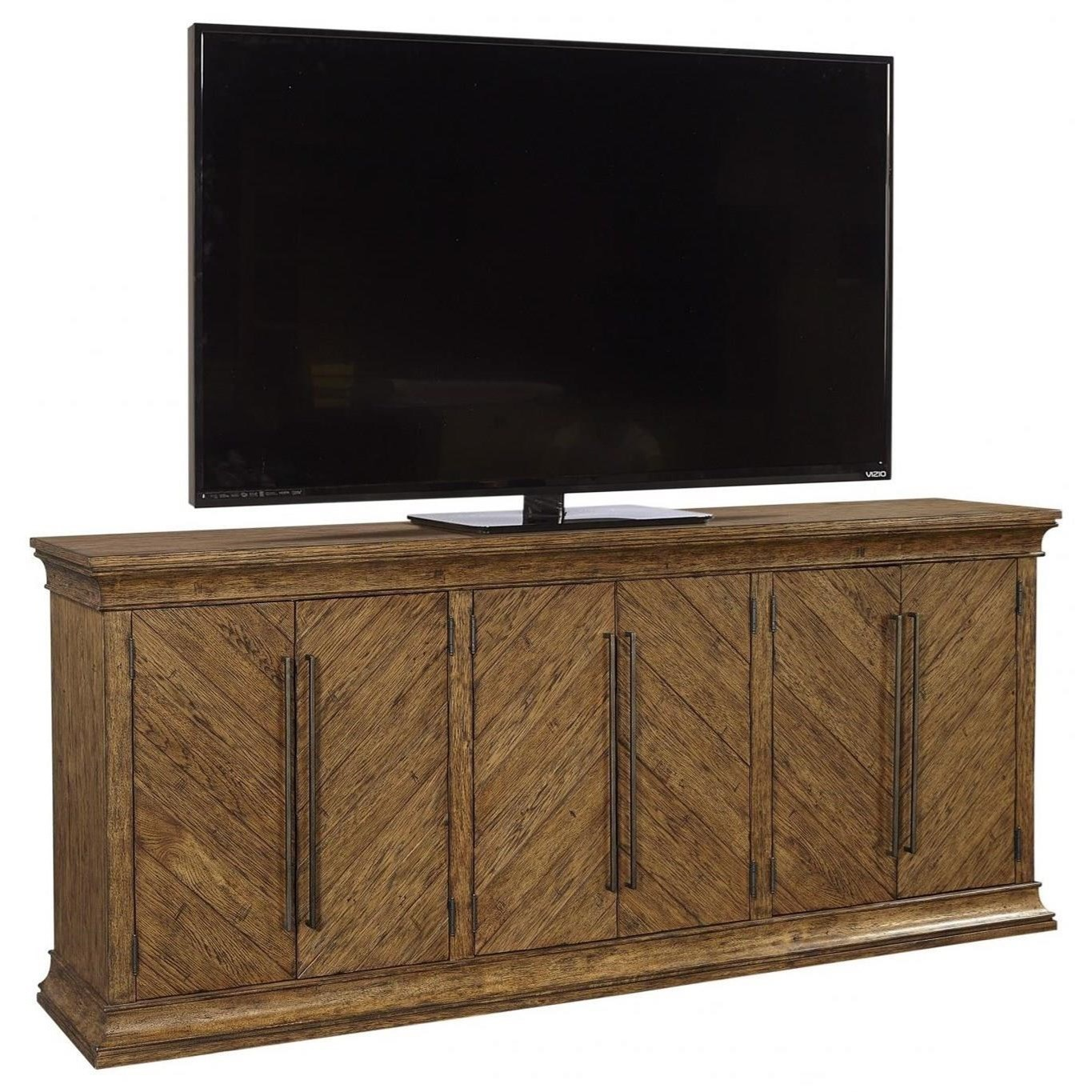 """Mosaic 85"""" Console by Aspenhome at Walker's Furniture"""