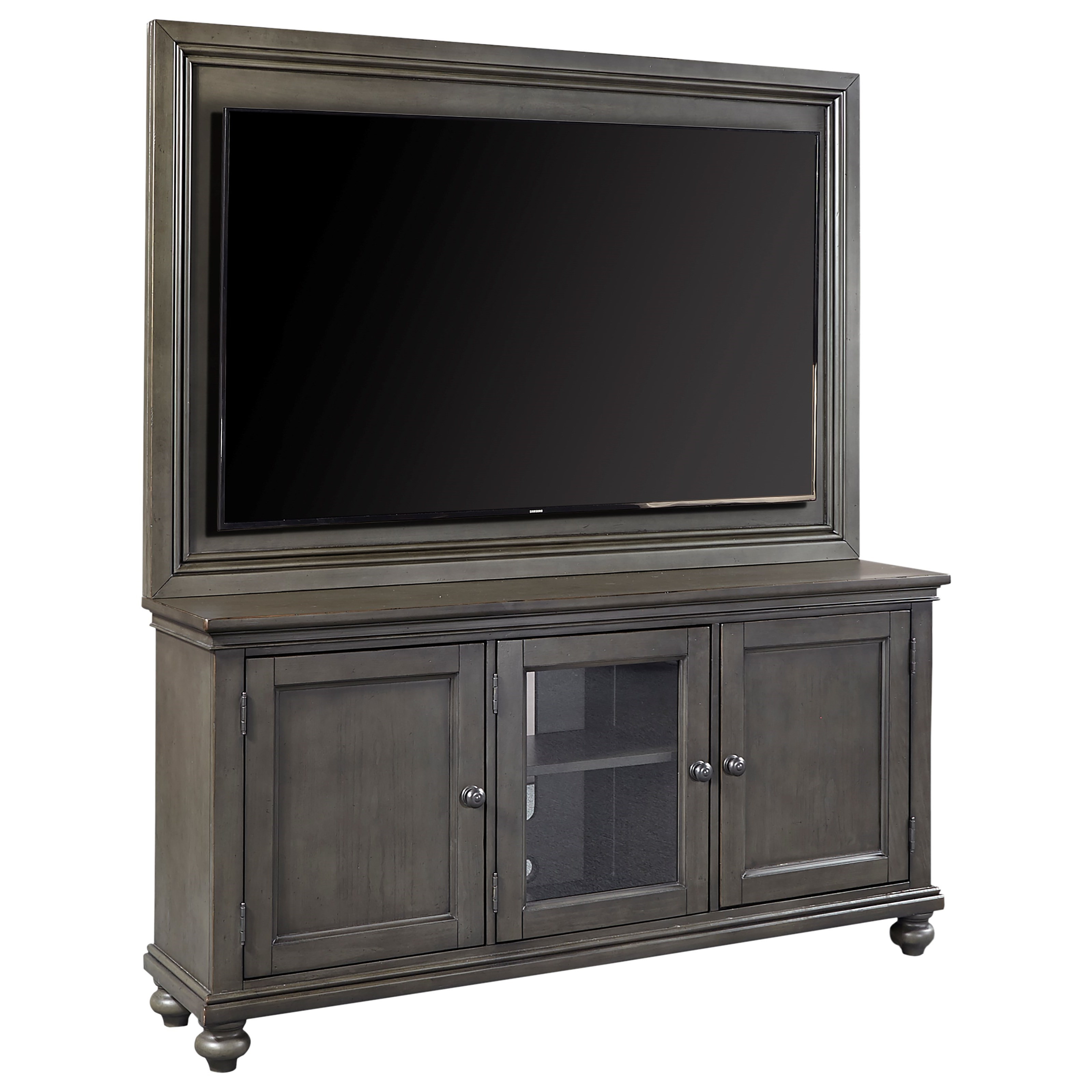 """Oxford 65"""" TV Stand With Backer by Aspenhome at Walker's Furniture"""
