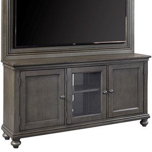 "65"" TV Stand with Adjustable Shelves"