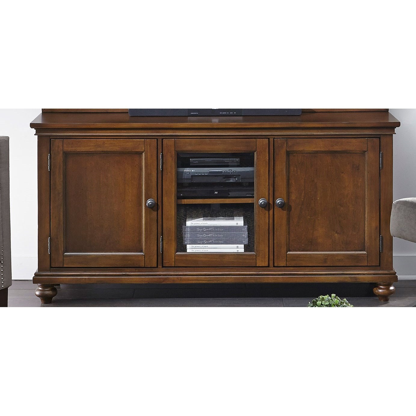 "Oxford 65"" TV Stand by Aspenhome at Walker's Furniture"