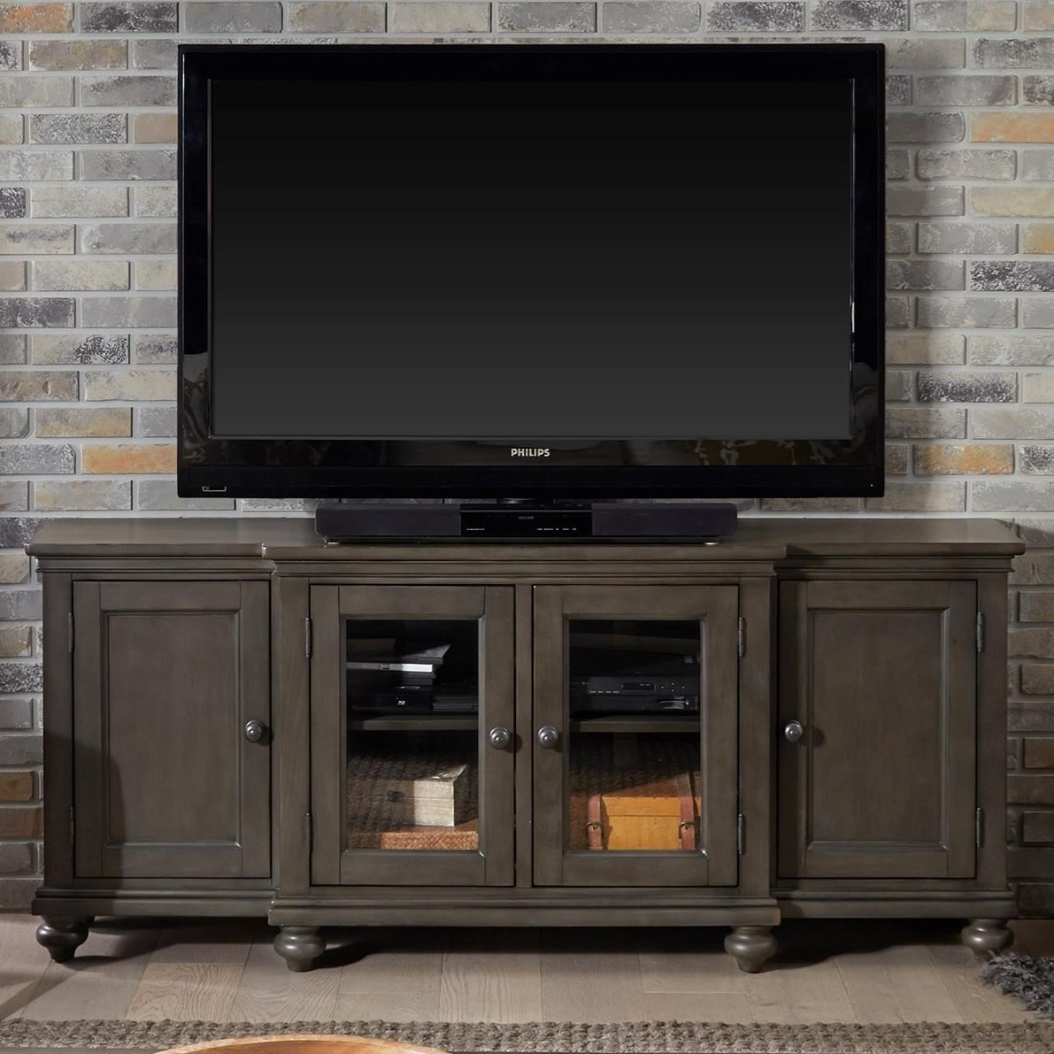 "Oxford 75"" Console  by Aspenhome at Baer's Furniture"