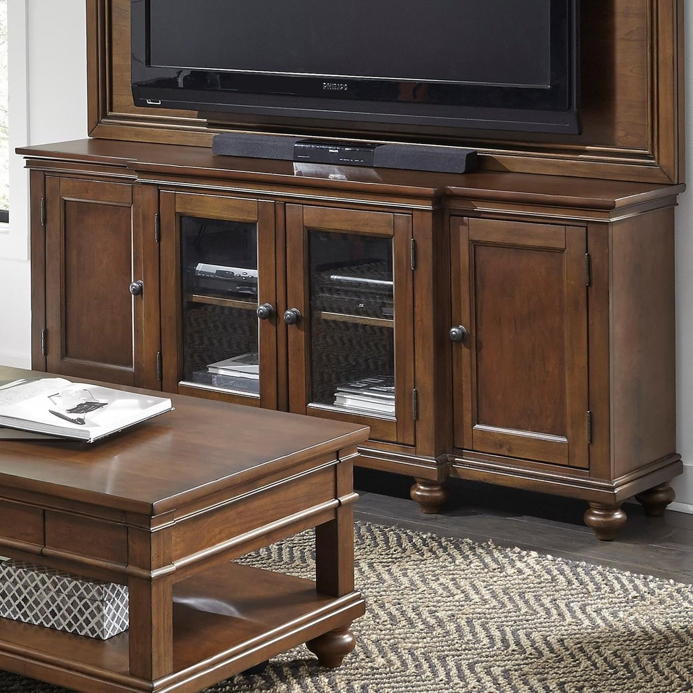 """Oxford 75"""" Console  by Aspenhome at Walker's Furniture"""