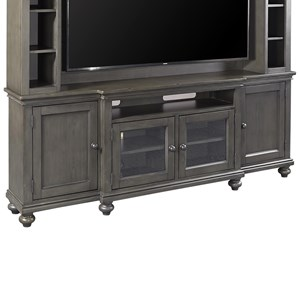 "86"" Console with Sound Bar Compartment"