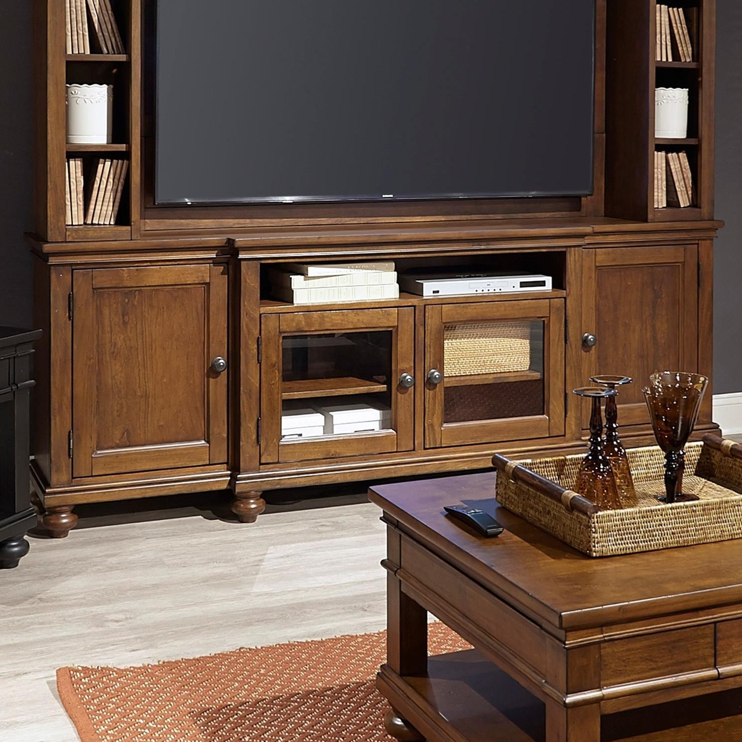 """Oxford 86"""" Console  by Aspenhome at Walker's Furniture"""