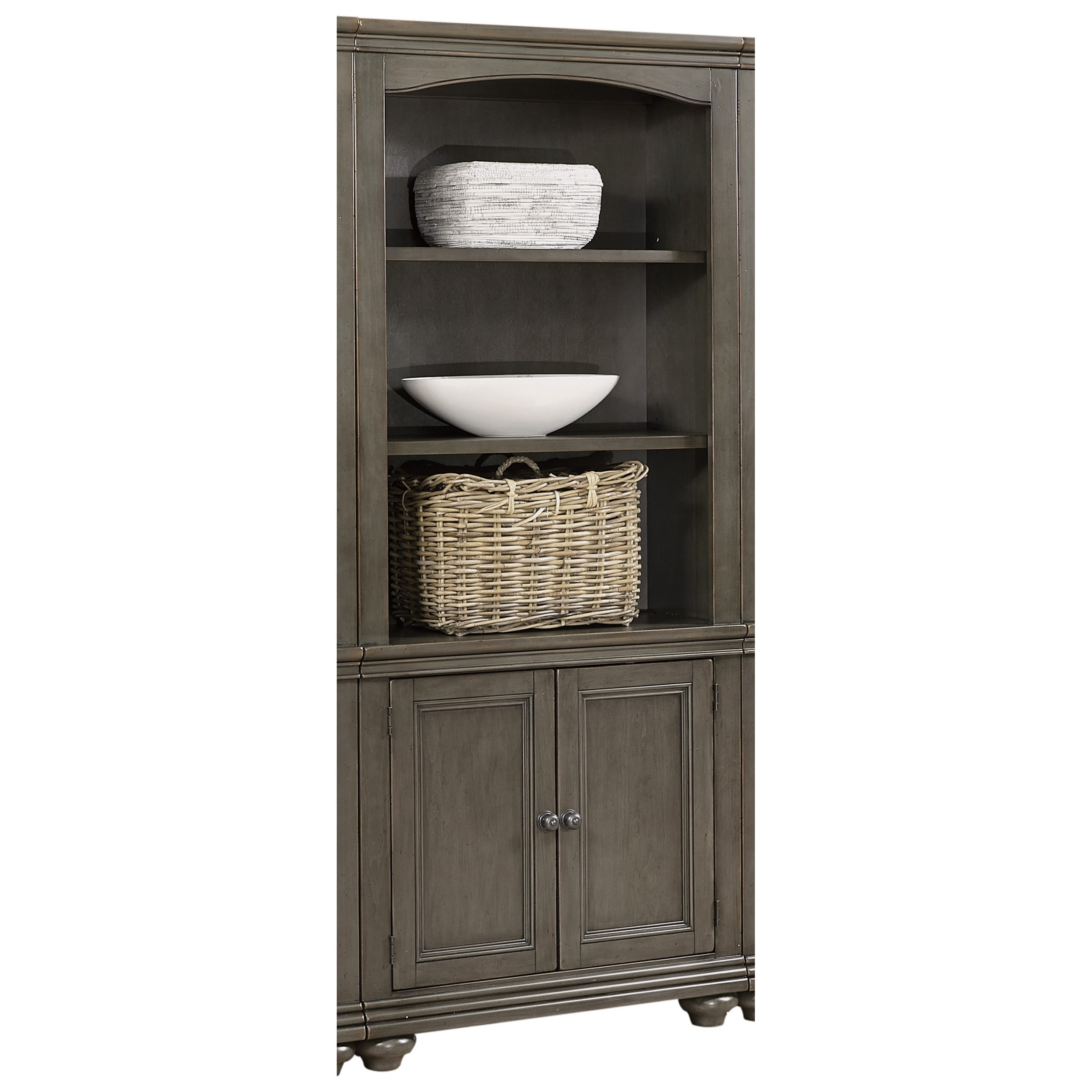 Oxford Door Bookcase  by Aspenhome at Walker's Furniture