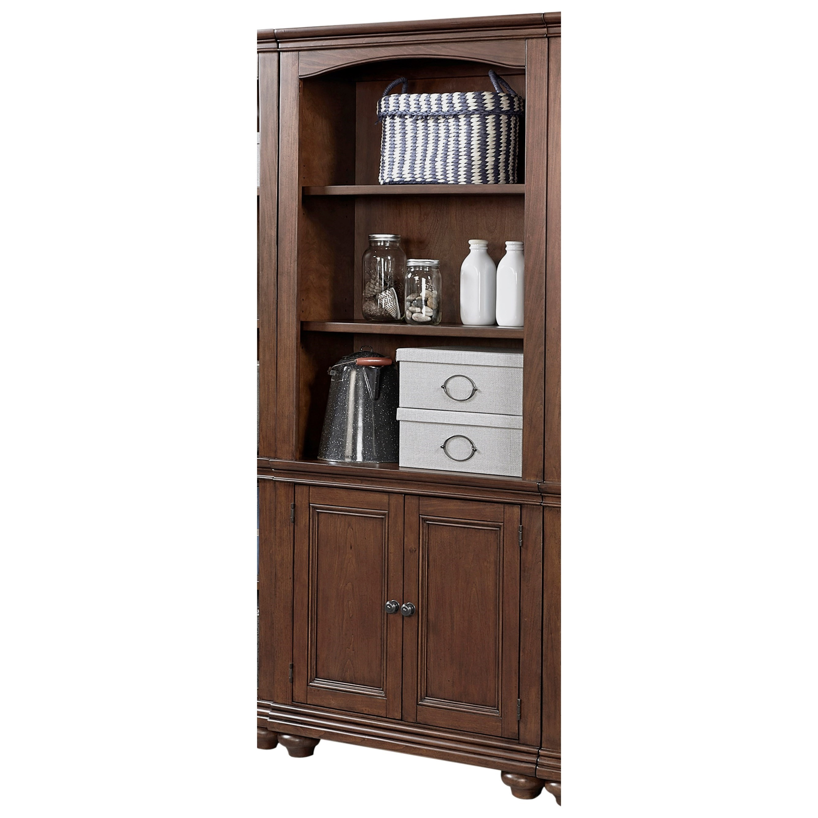 Oxford Door Bookcase  by Aspenhome at Baer's Furniture