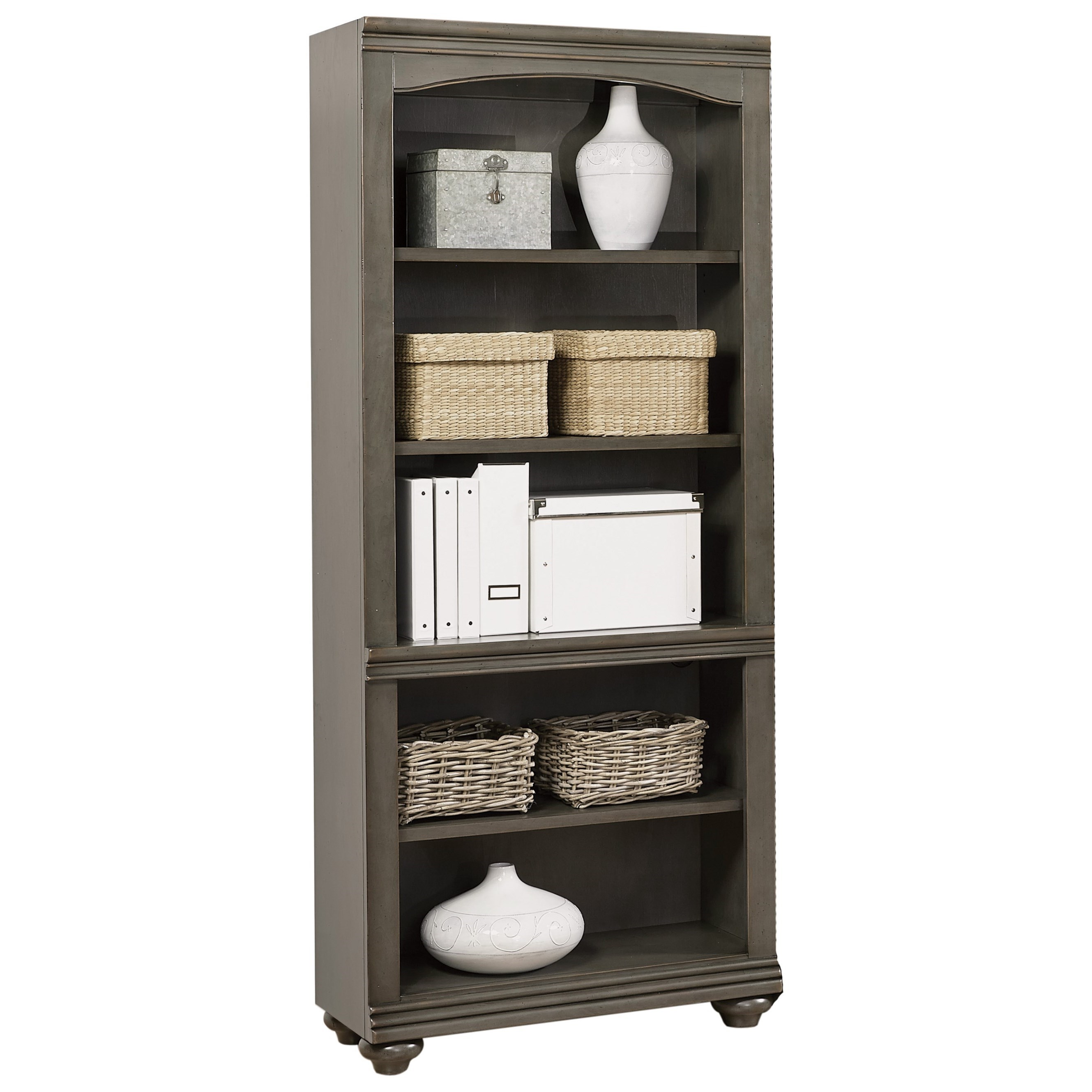 Oxford Bookcase by Aspenhome at HomeWorld Furniture
