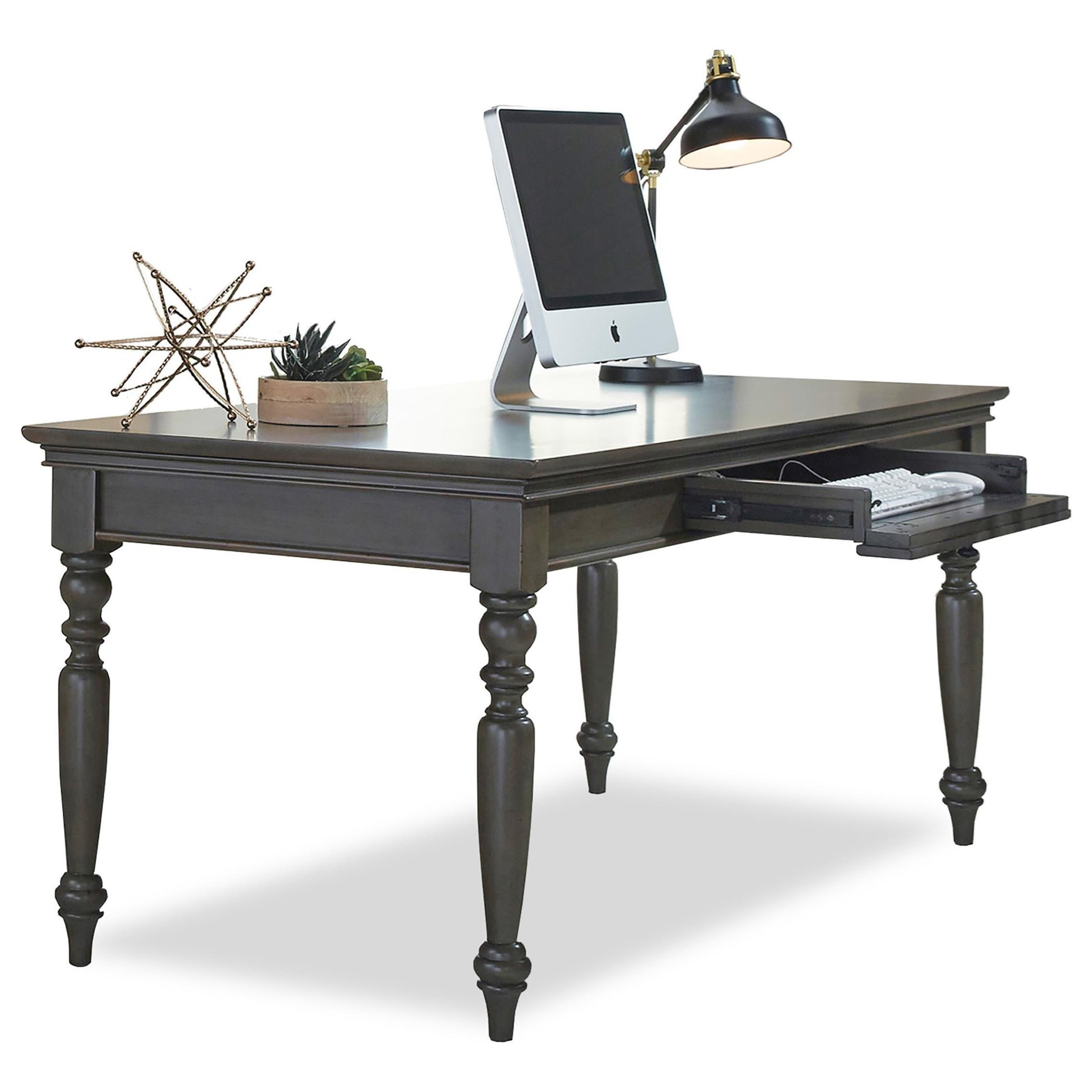 """Oxford 72"""" Writing Desk  by Aspenhome at Walker's Furniture"""