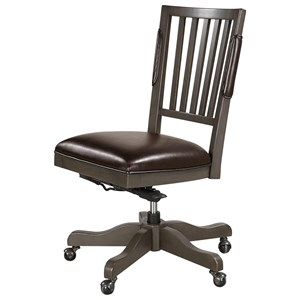 Armless Office Chair