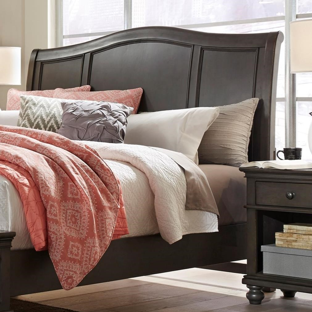 Oxford Queen Sleigh Headboard by Aspenhome at Stoney Creek Furniture