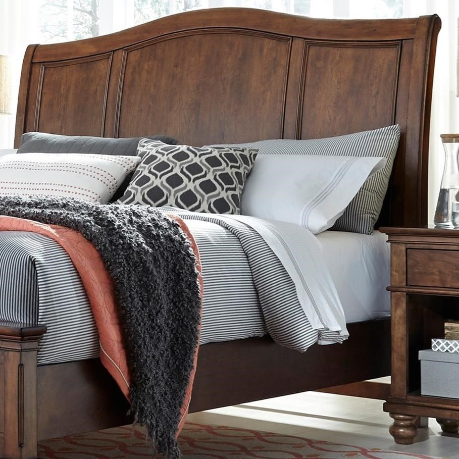 Oxford Queen Sleigh Headboard by Aspenhome at Baer's Furniture