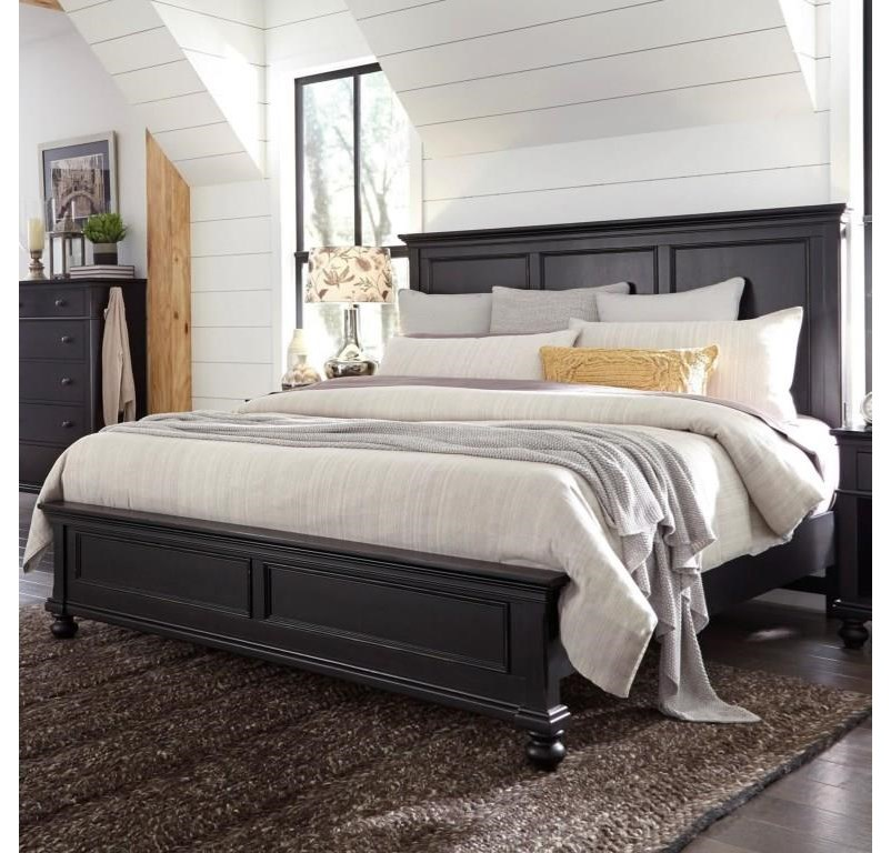 Oakford Oakford Queen Panel Bed by Aspenhome at Morris Home