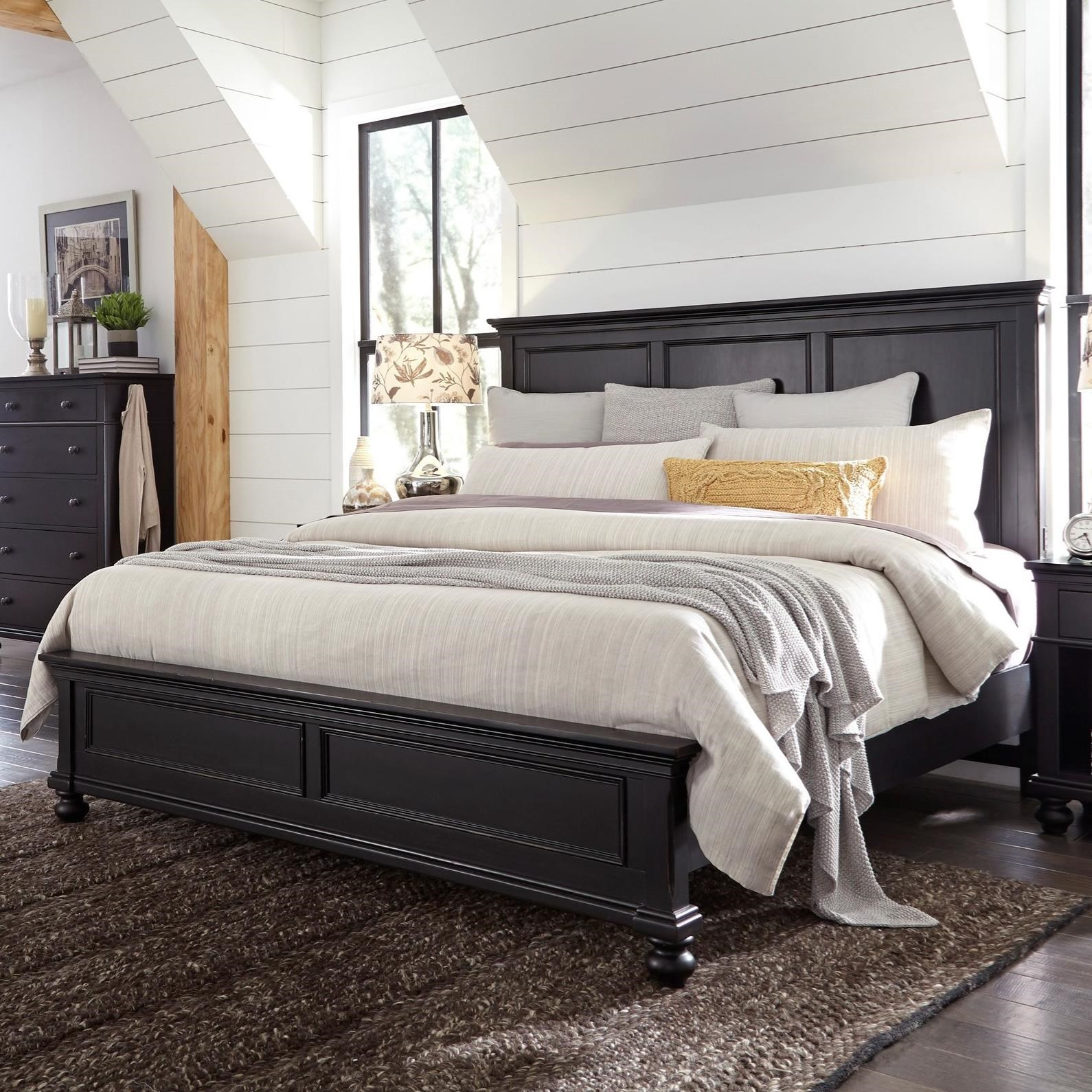 Oakford Oakford King Panel Bed by Aspenhome at Morris Home