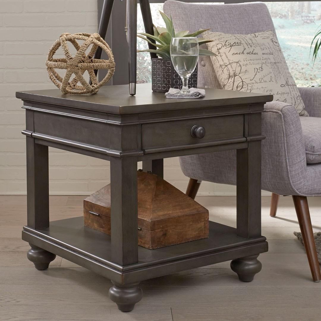 Oxford End Table by Birch Home at Sprintz Furniture