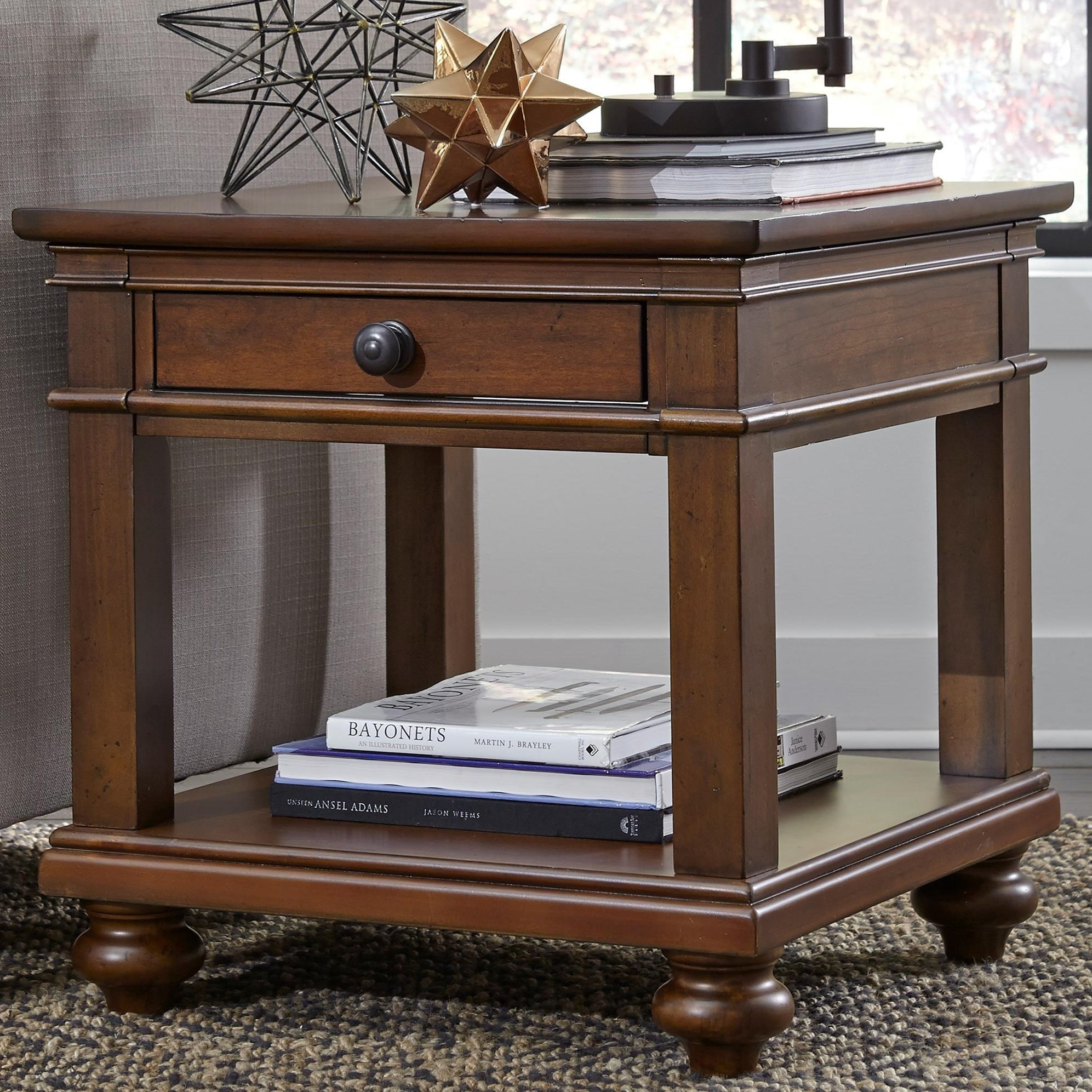 Oxford End Table by Aspenhome at Baer's Furniture