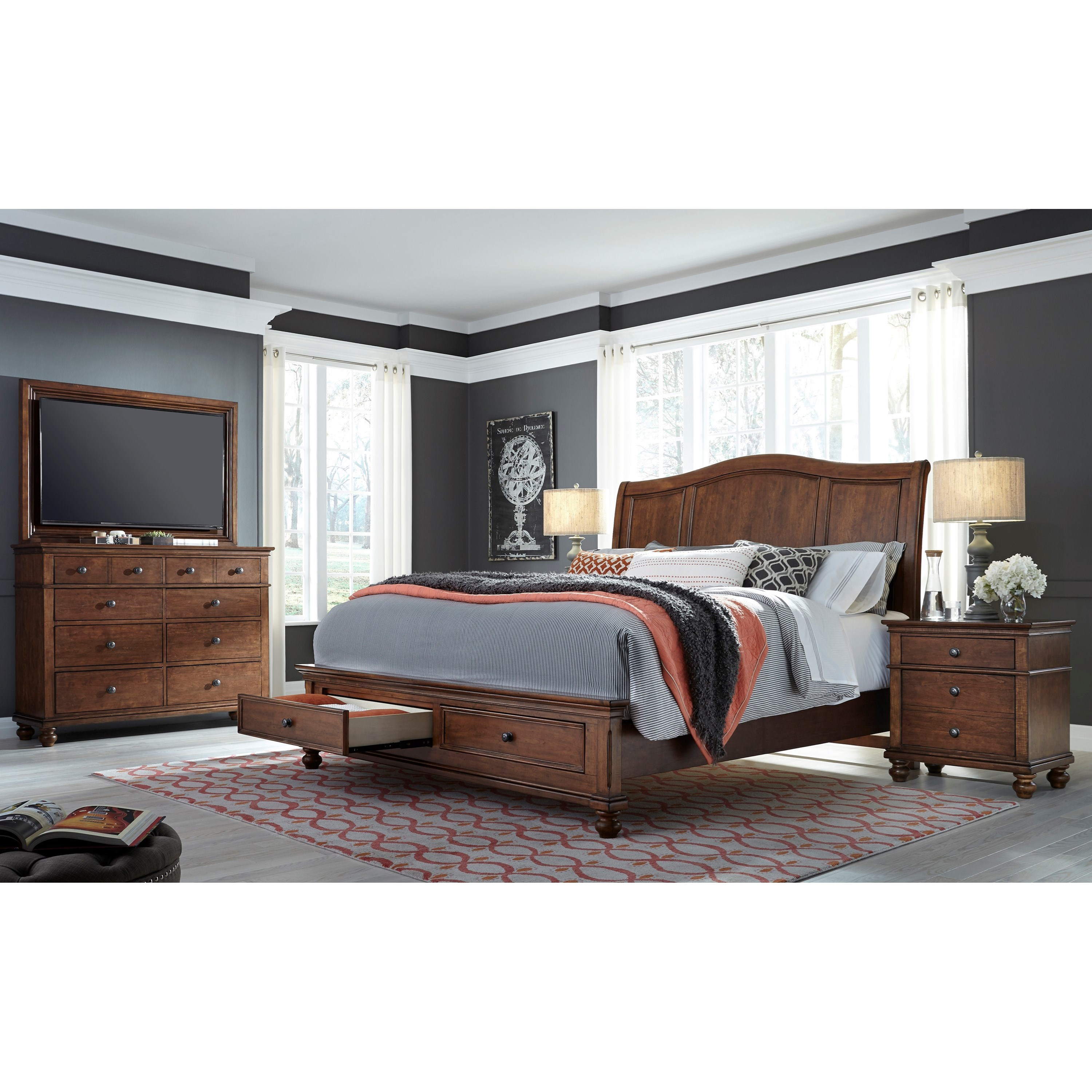 Oxford Queen Bedroom Group by Aspenhome at Walker's Furniture