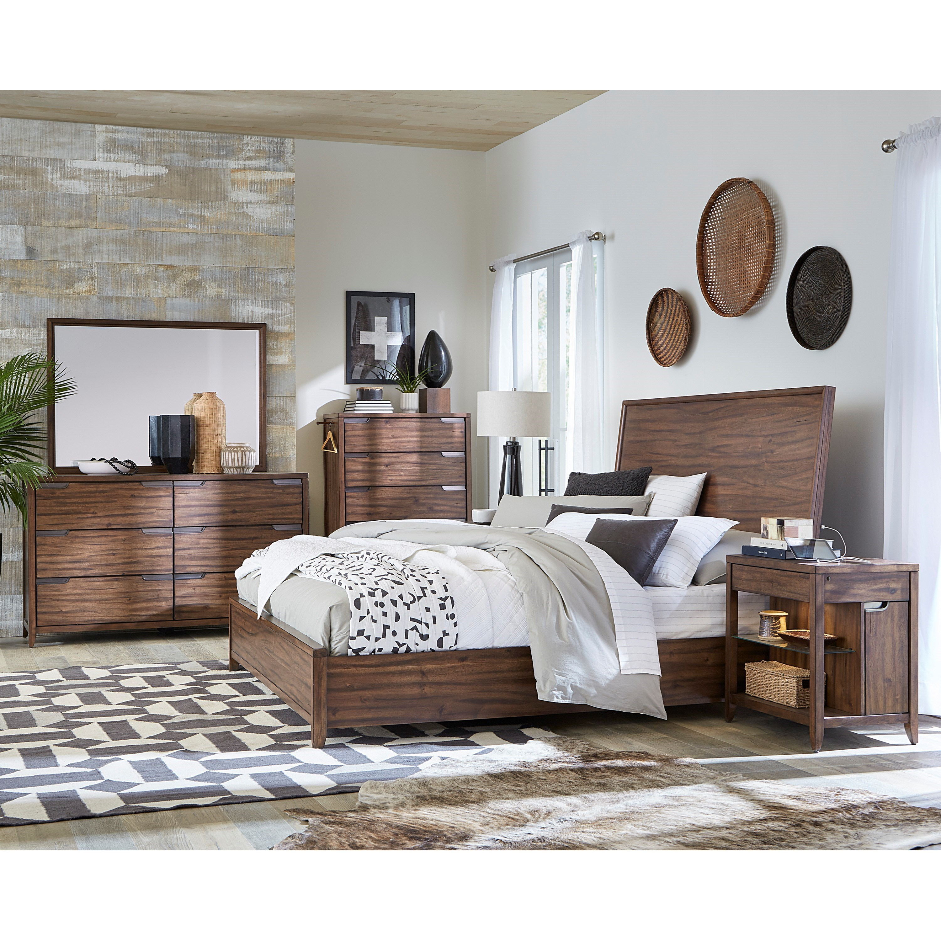 Peyton I317 King Bedroom Group by Aspenhome at Baer's Furniture