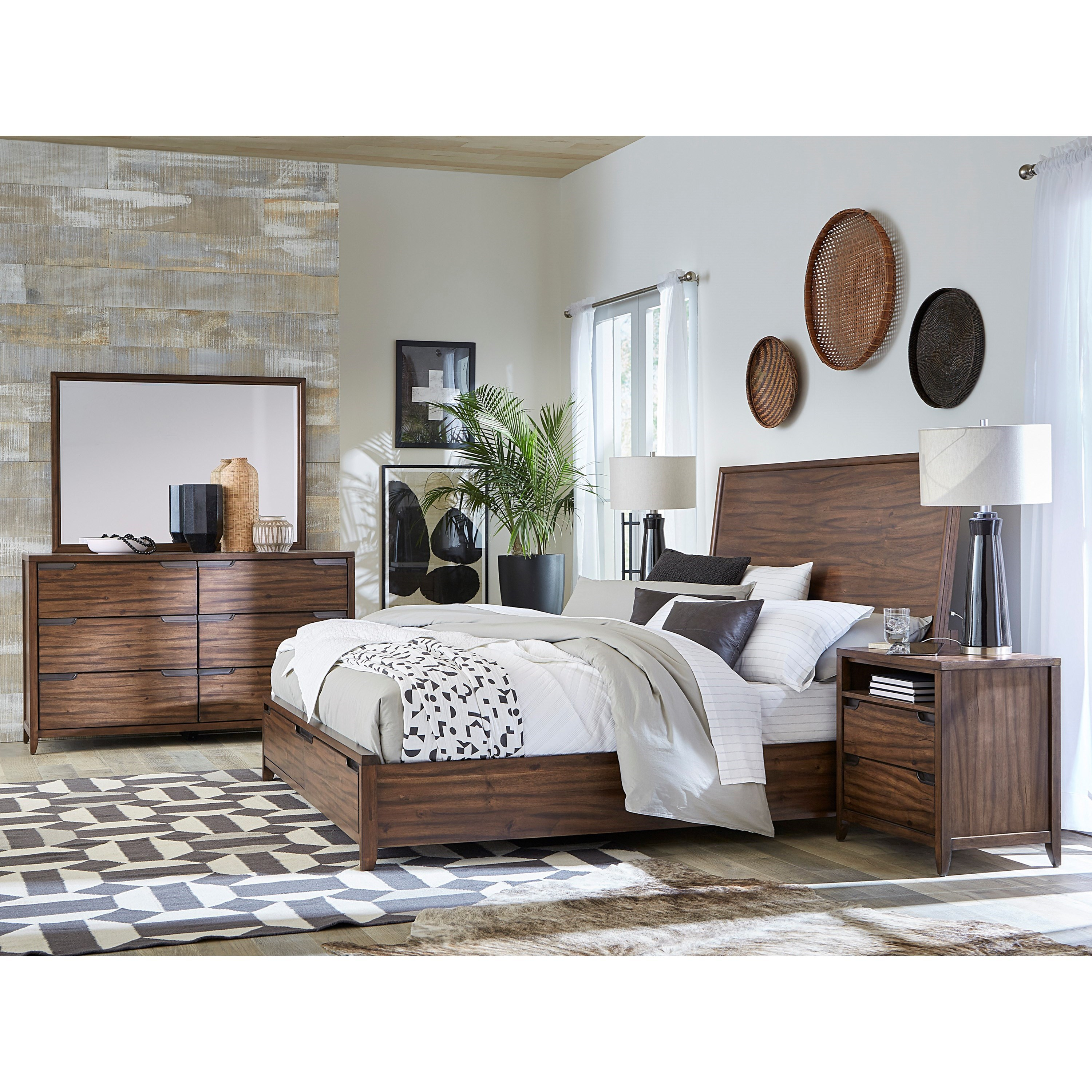 Peyton I317 Queen Storage Bedroom Group by Aspenhome at Mueller Furniture