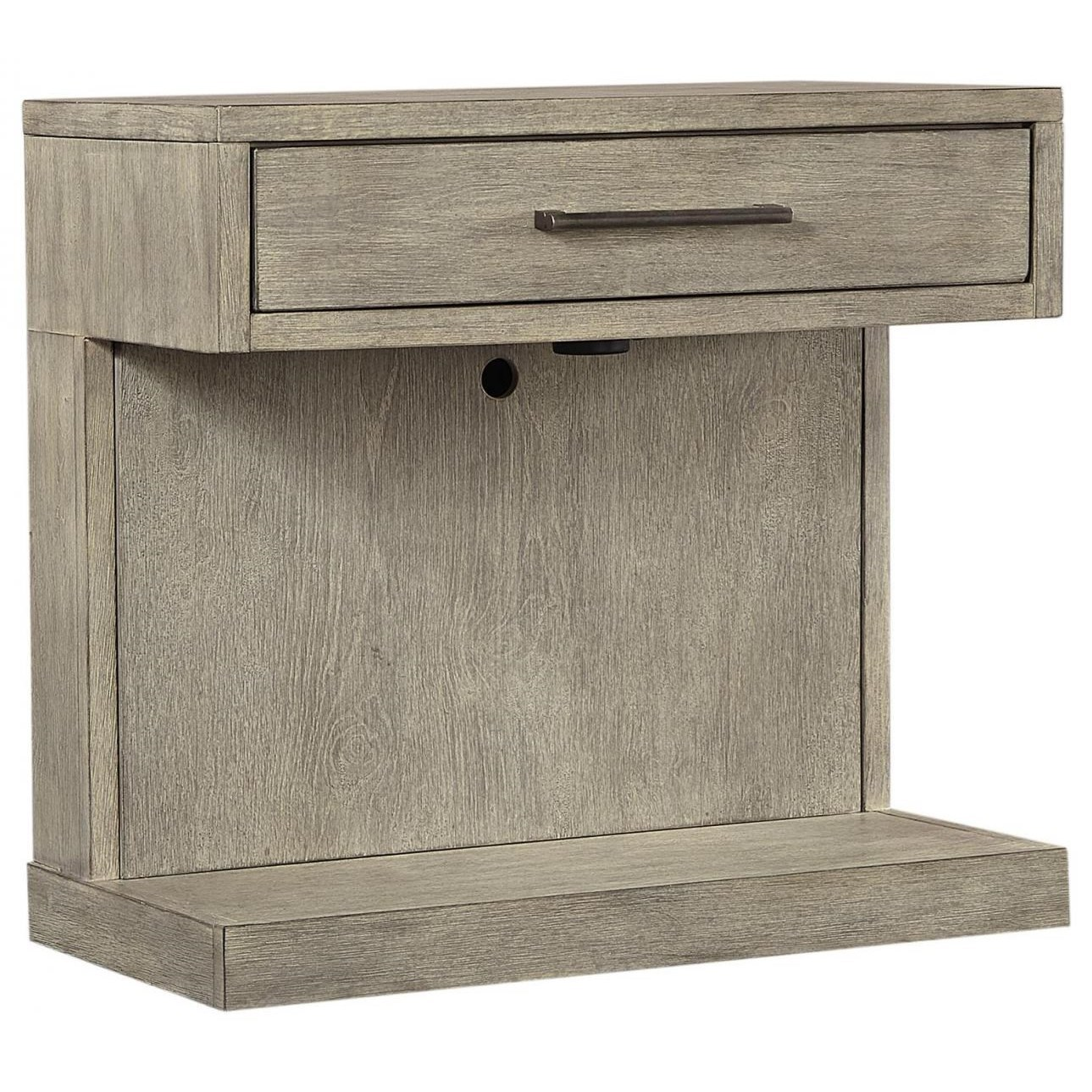 Platinum Nightstand by Aspenhome at Walker's Furniture