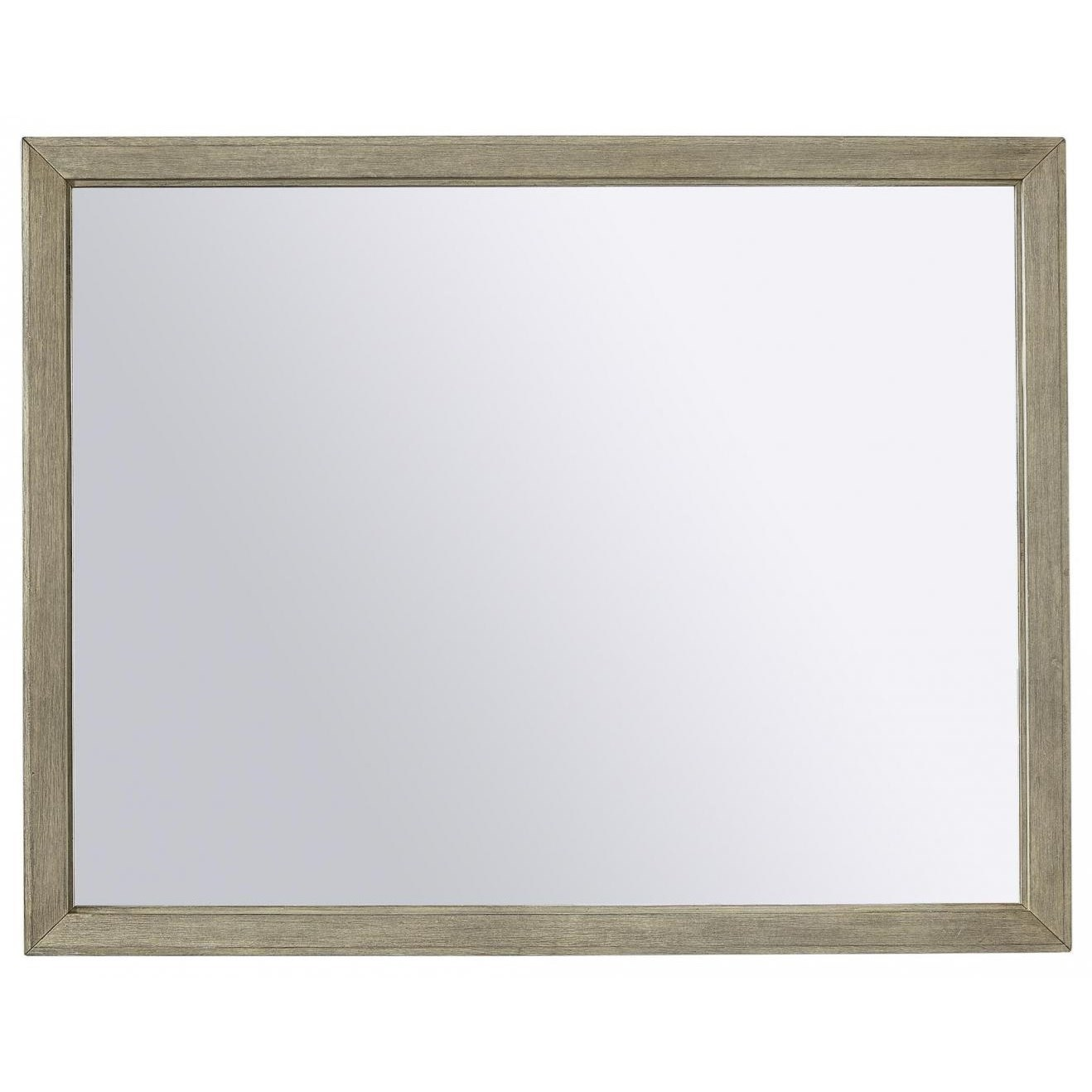 Platinum Place Platinum Place Mirror by Aspenhome at Morris Home