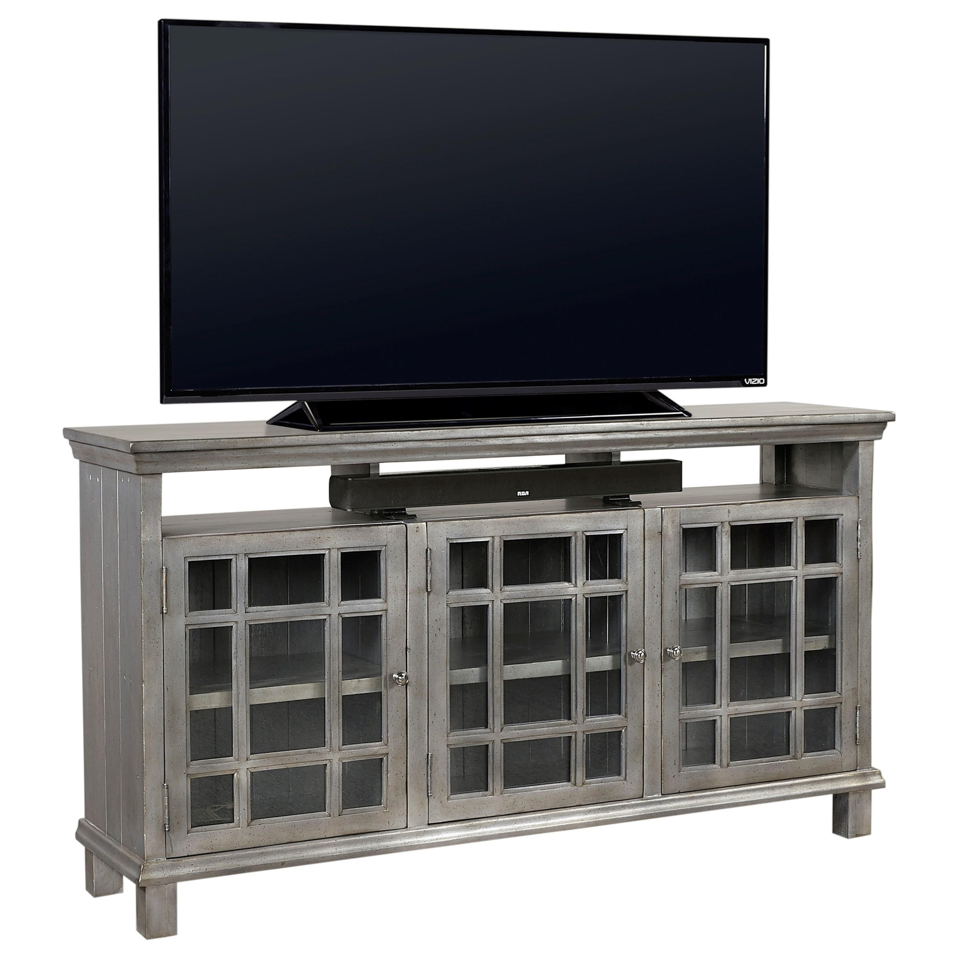 """Preferences 65"""" Console  by Aspenhome at Fisher Home Furnishings"""