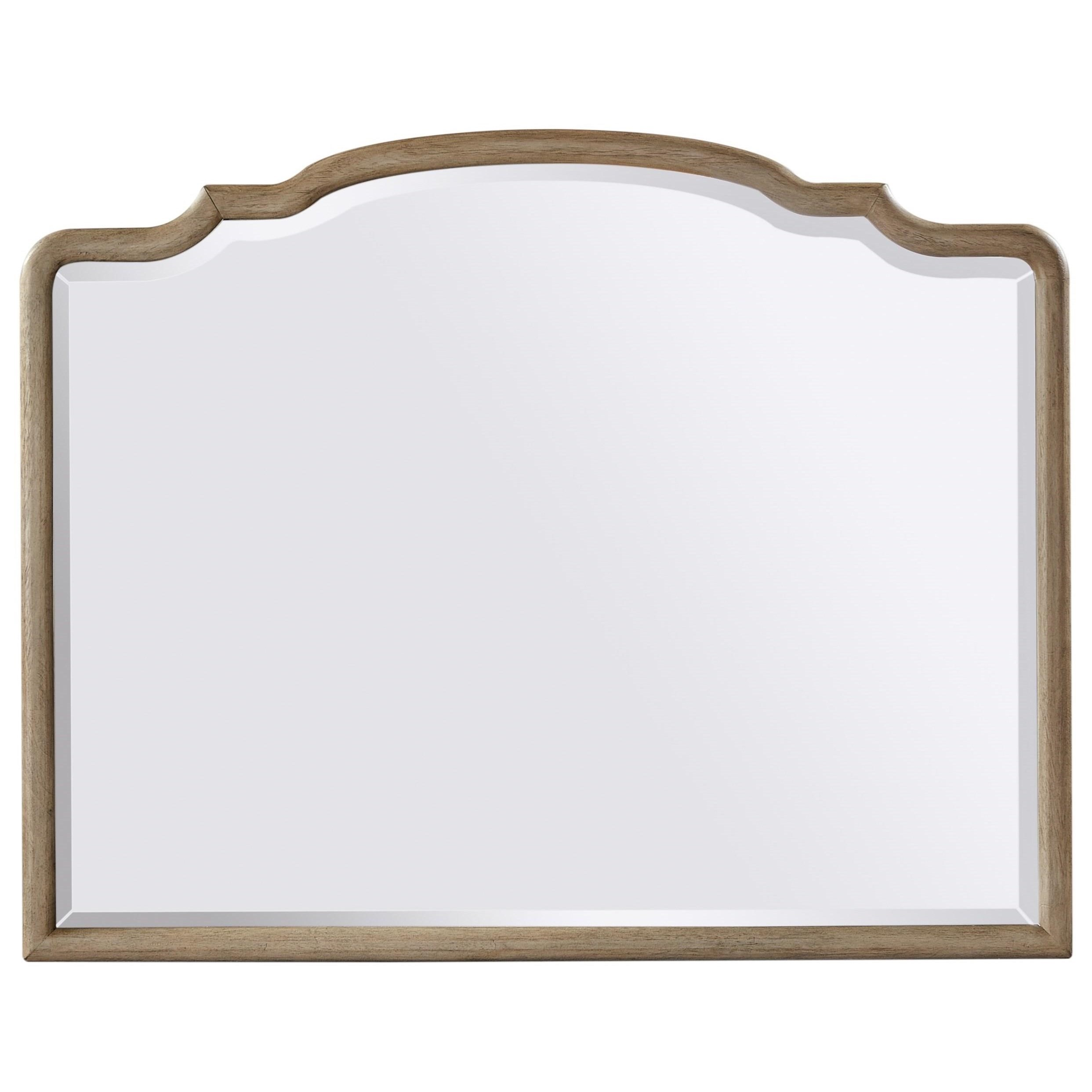 Provence Landscape Mirror  by Aspenhome at Walker's Furniture
