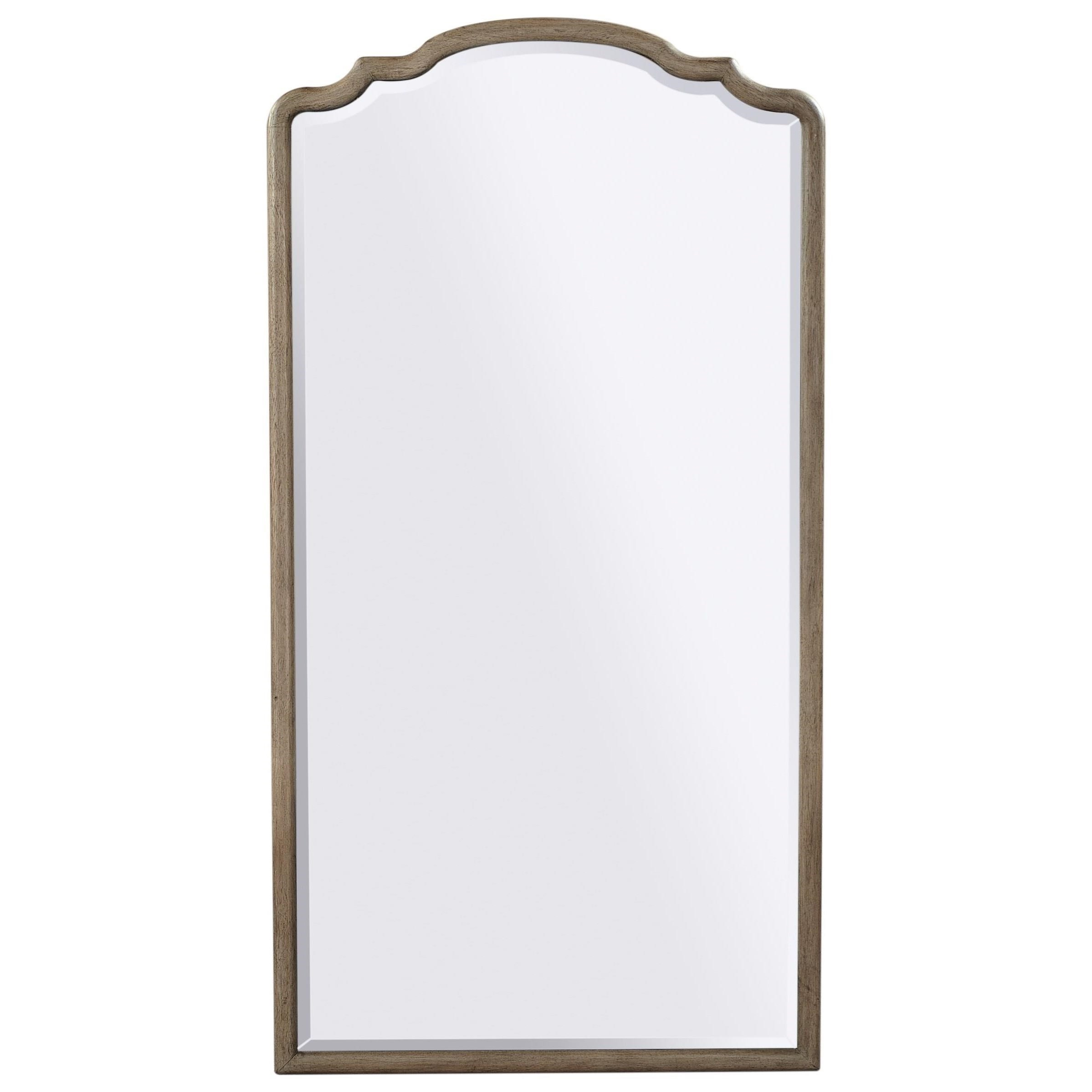 Provence Floor Mirror  by Aspenhome at Walker's Furniture