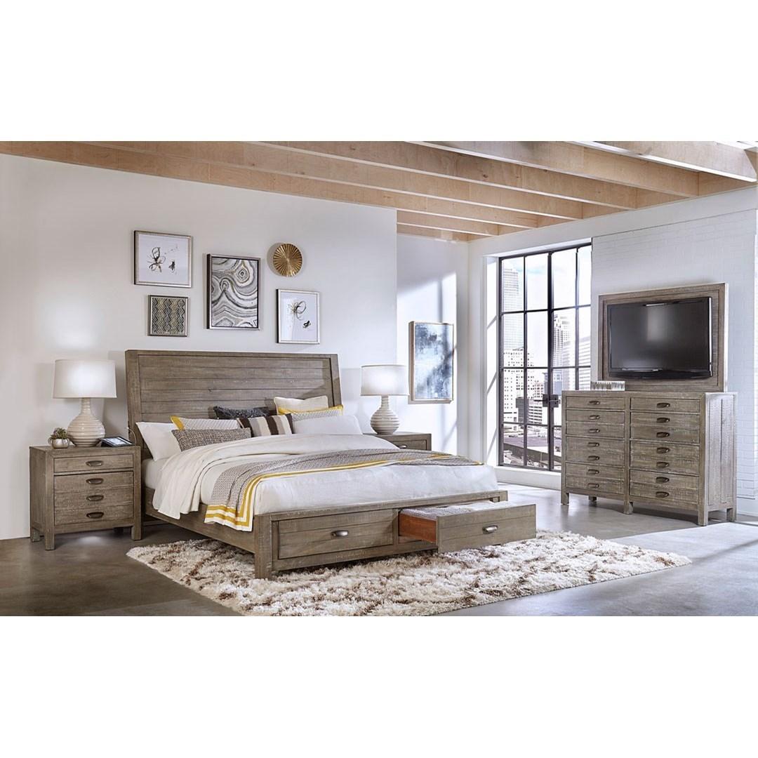 Radiata King Bedroom Group by Aspenhome at Walker's Furniture