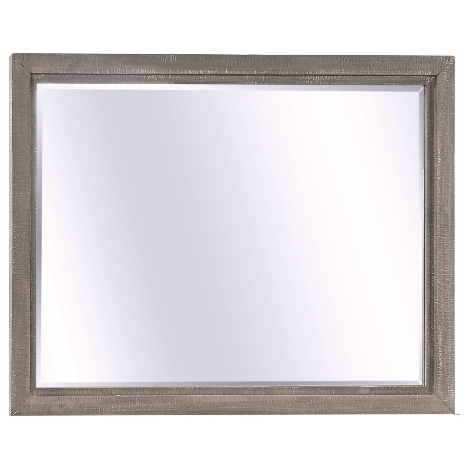 Radiata Landscape Dresser Mirror  by Aspenhome at Walker's Furniture