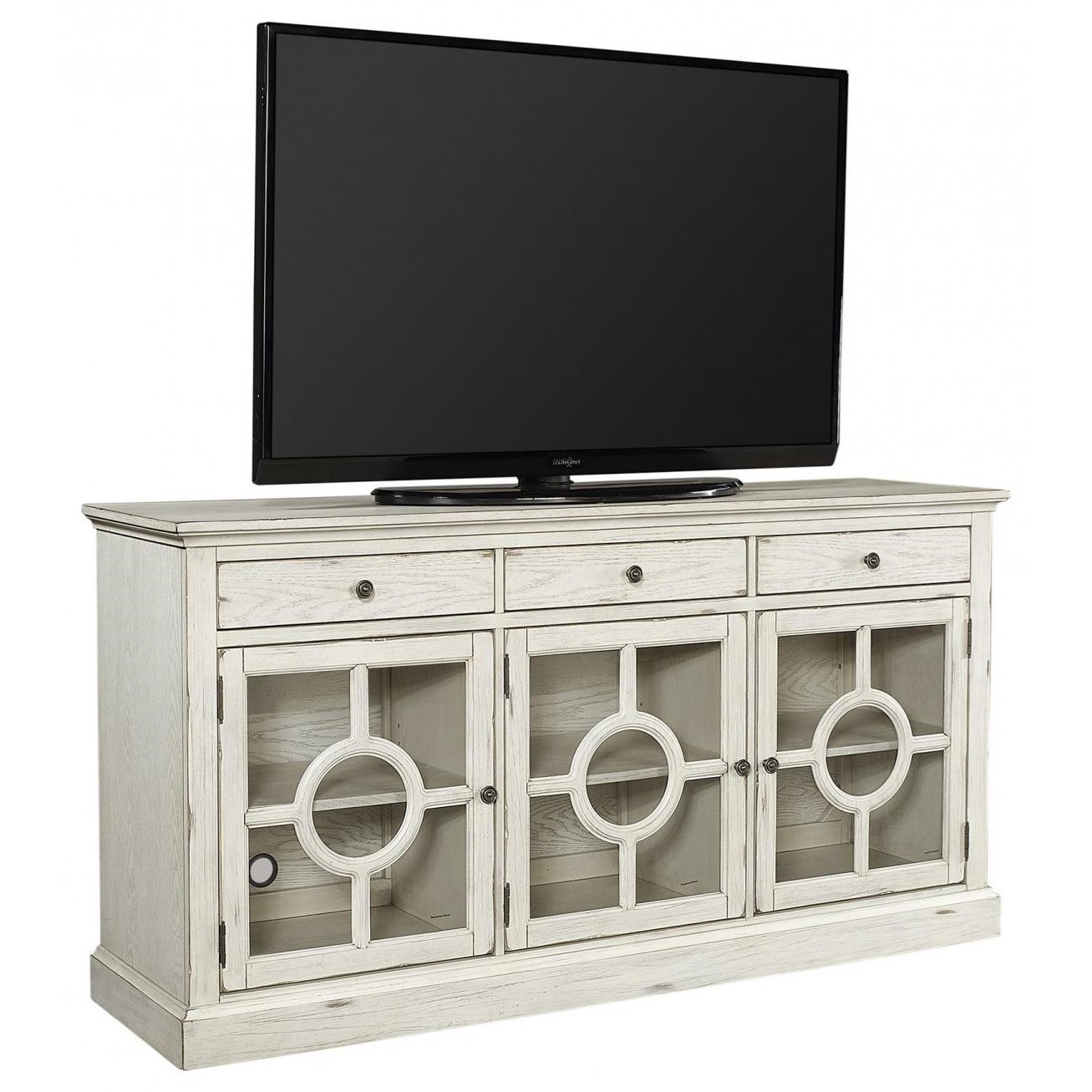 """Radius  66"""" TV Stand by Aspenhome at Walker's Furniture"""