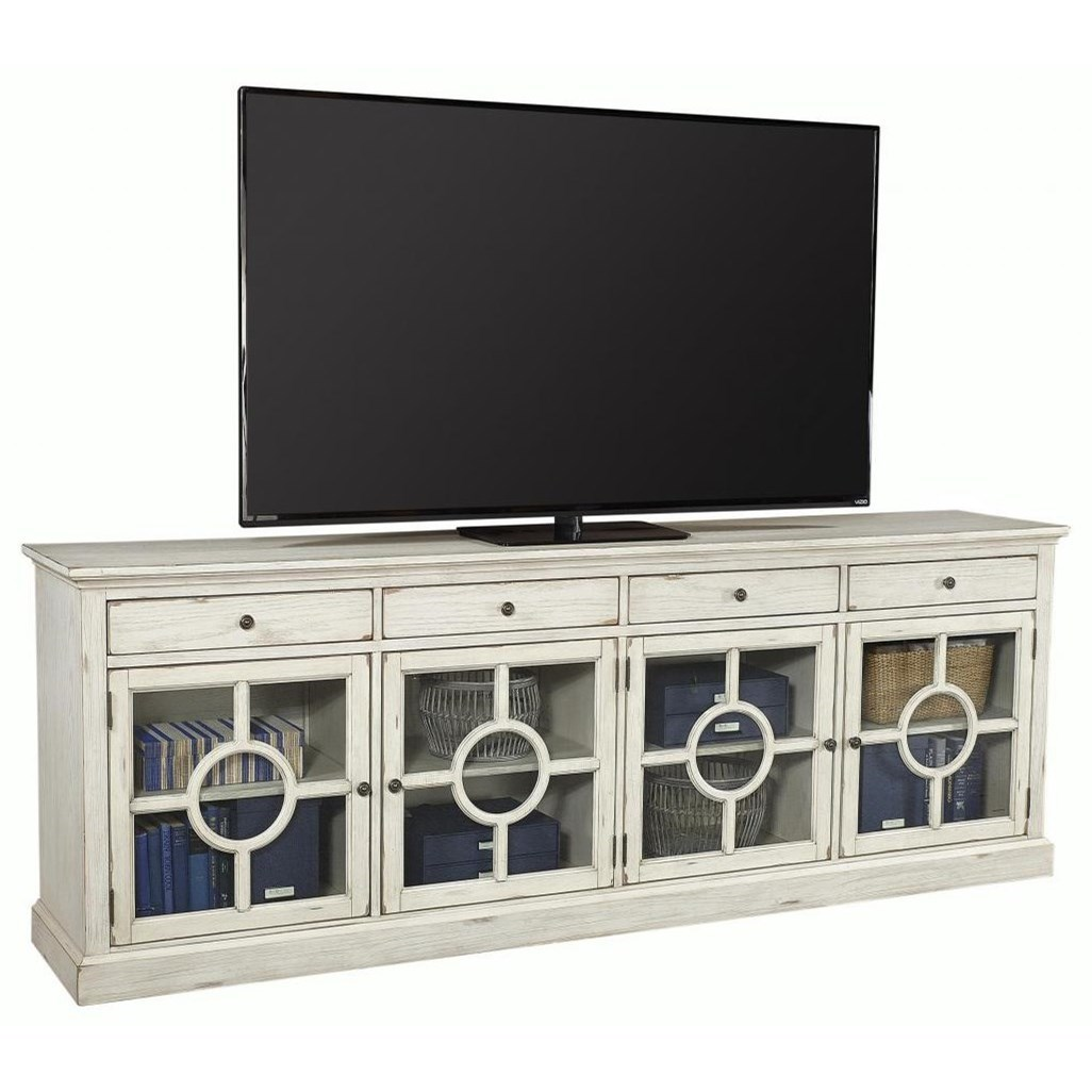 """Radius  96"""" TV Stand  by Aspenhome at Walker's Furniture"""