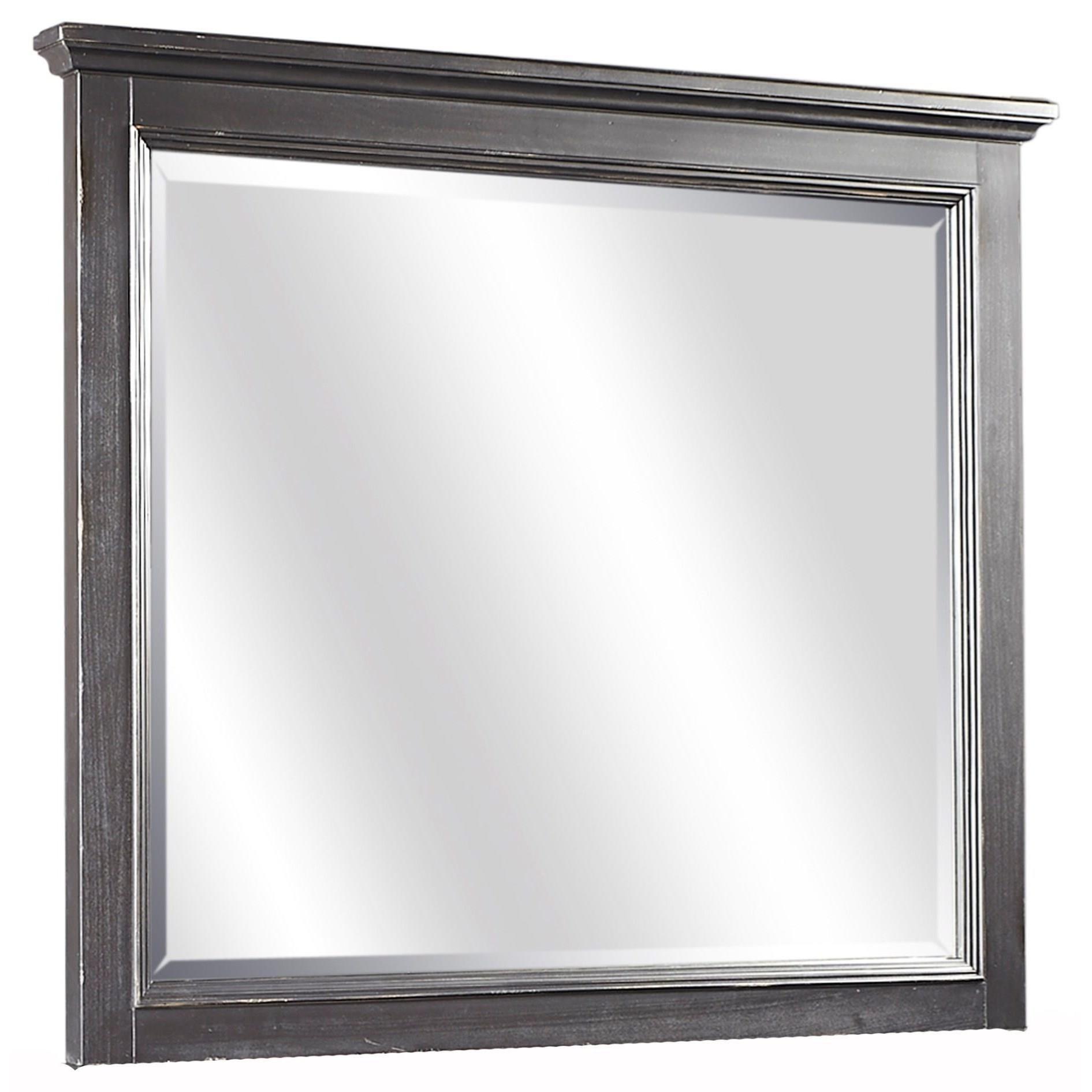 Retreat Mirror by Aspenhome at HomeWorld Furniture