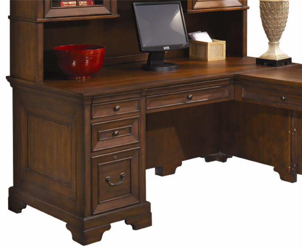 "Richmond 66"" Computer Desk by Aspenhome at Walker's Furniture"