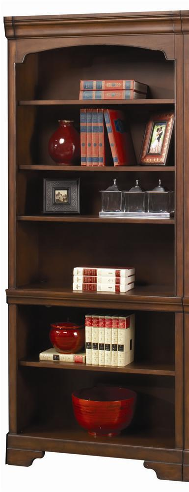 Richmond Open Bookcase by Aspenhome at Walker's Furniture