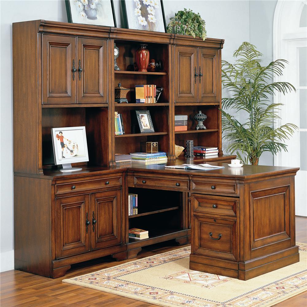 Richmond Modular Desk Wall by Aspenhome at Mueller Furniture