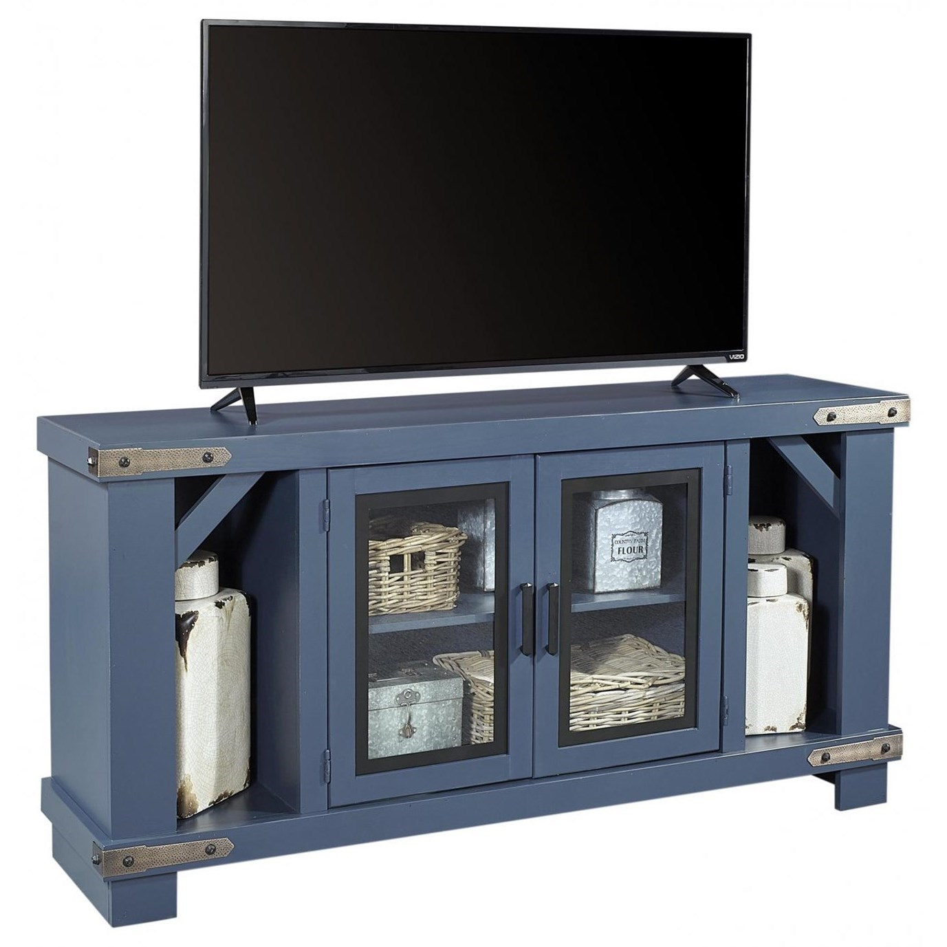 "Sawyer 64"" Console by Aspenhome at Baer's Furniture"