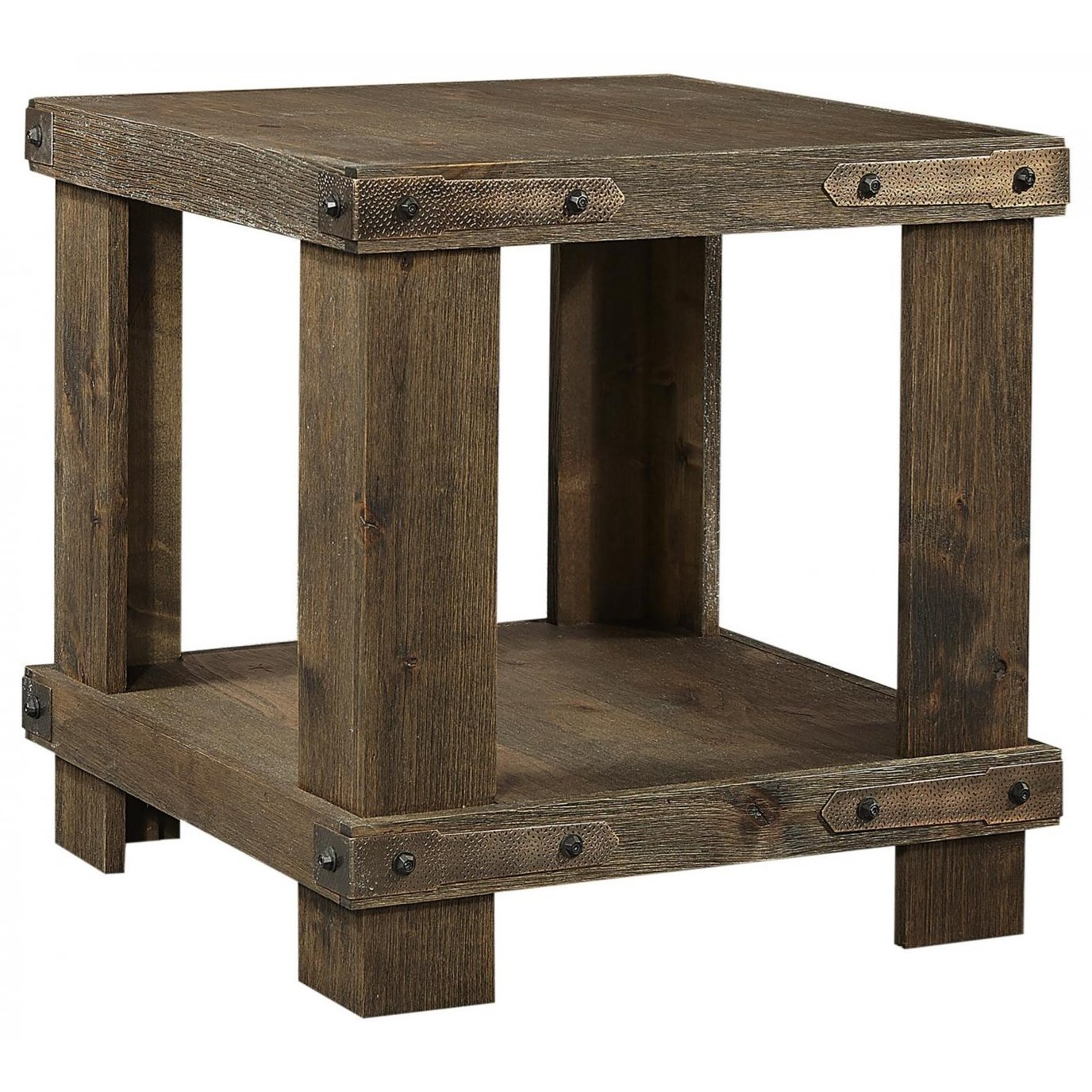 Sawyer End Table by Aspenhome at Walker's Furniture