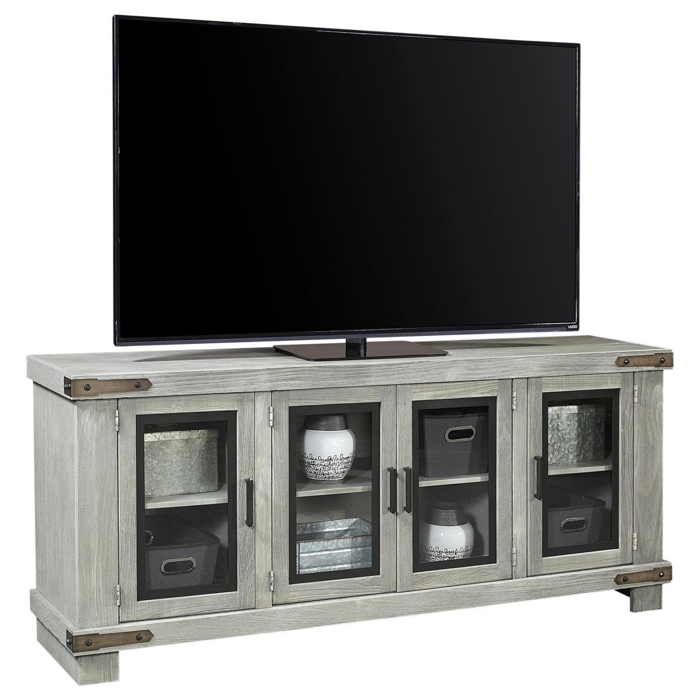 "Sawyer 78"" Console by Aspenhome at Baer's Furniture"