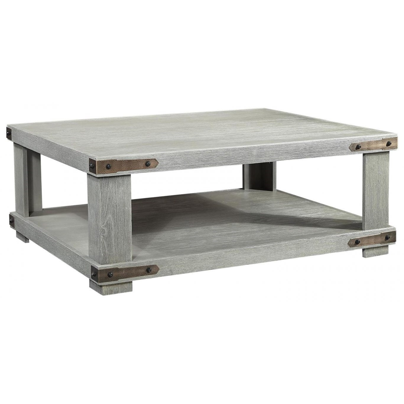 Sawyer Cocktail Table by Aspenhome at Stoney Creek Furniture