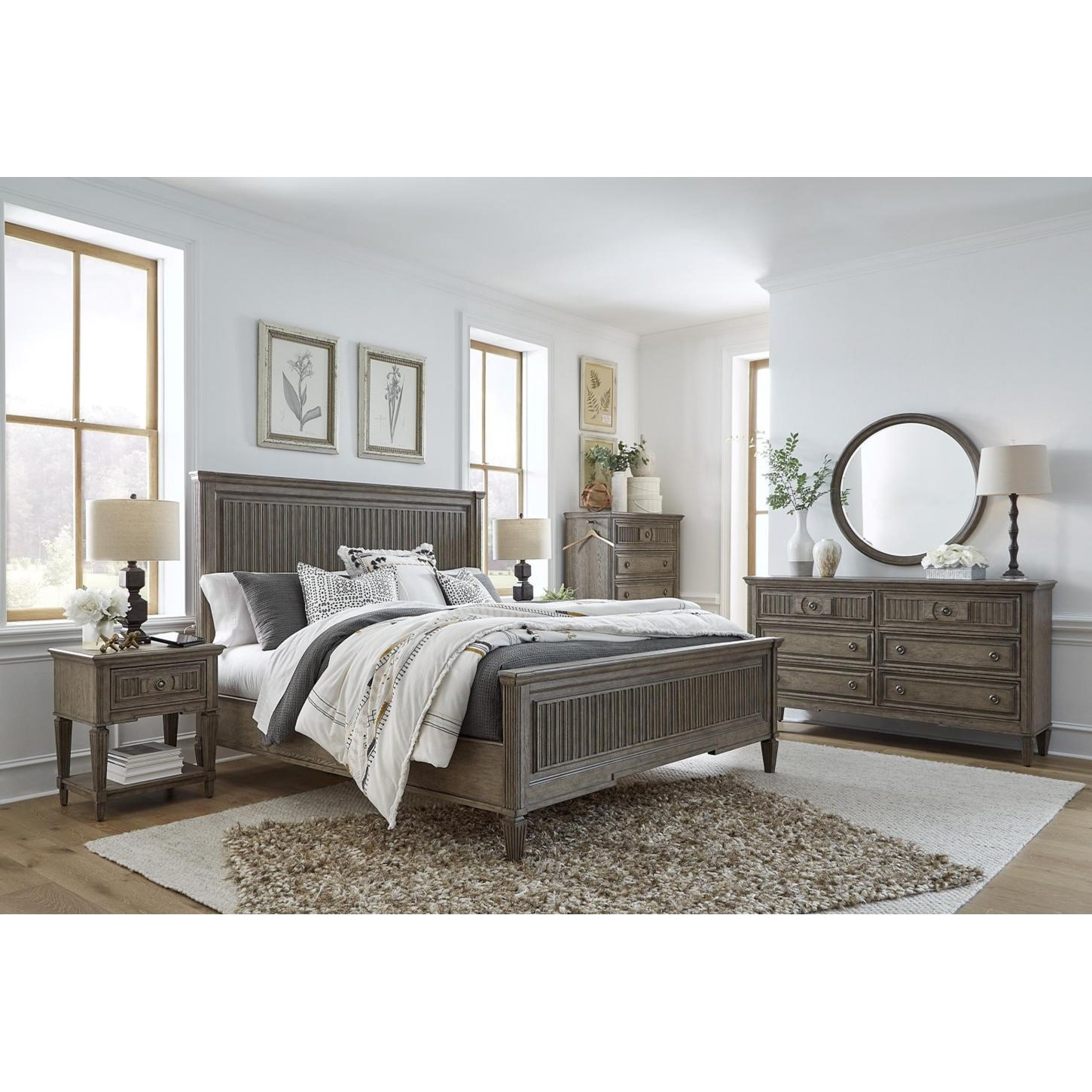 Strasbourg Queen Bedroom Group by Aspenhome at Bullard Furniture